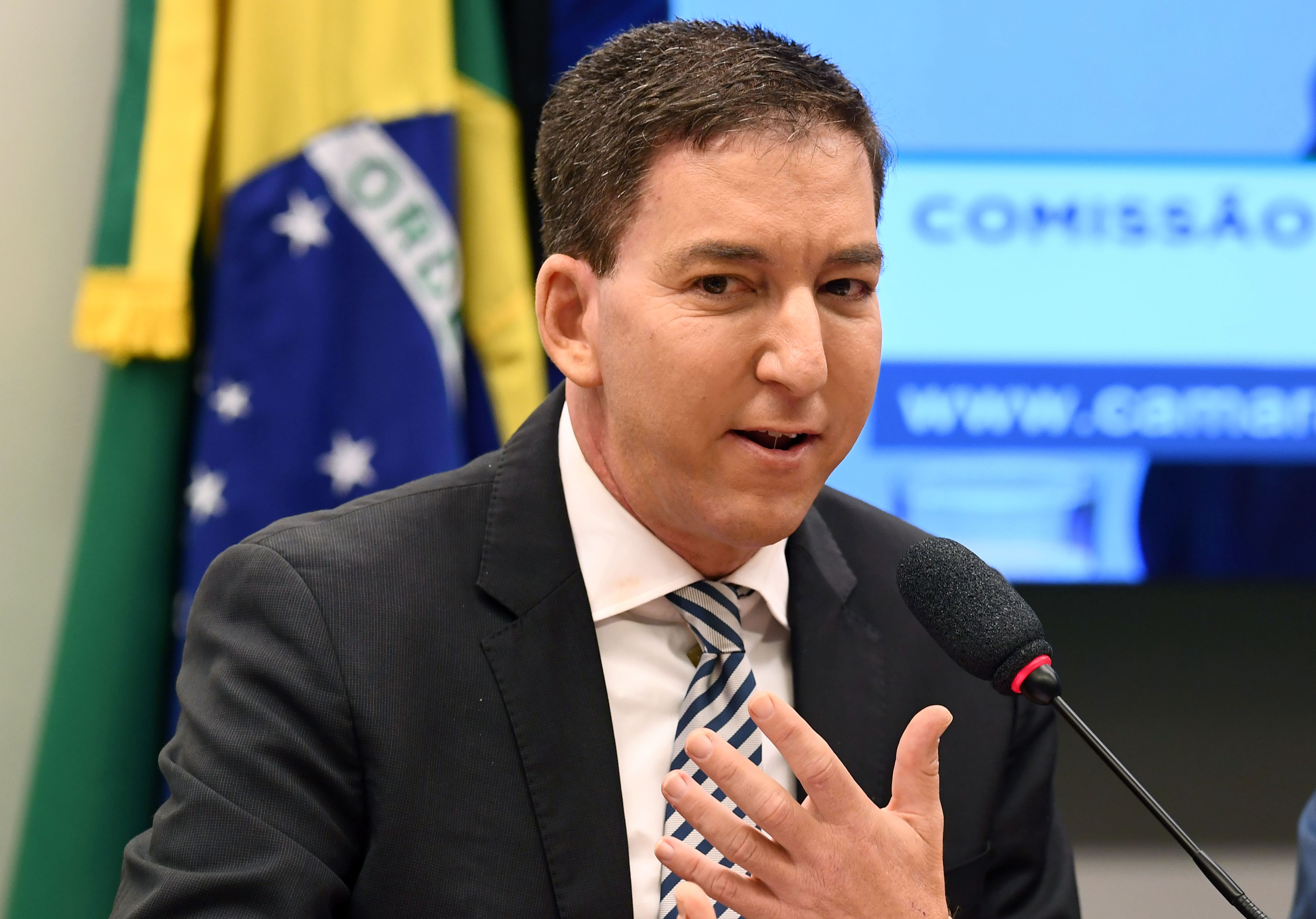 BRAZIL-POLITICS-CORRUPTION-INTERCEPT-GREENWALD