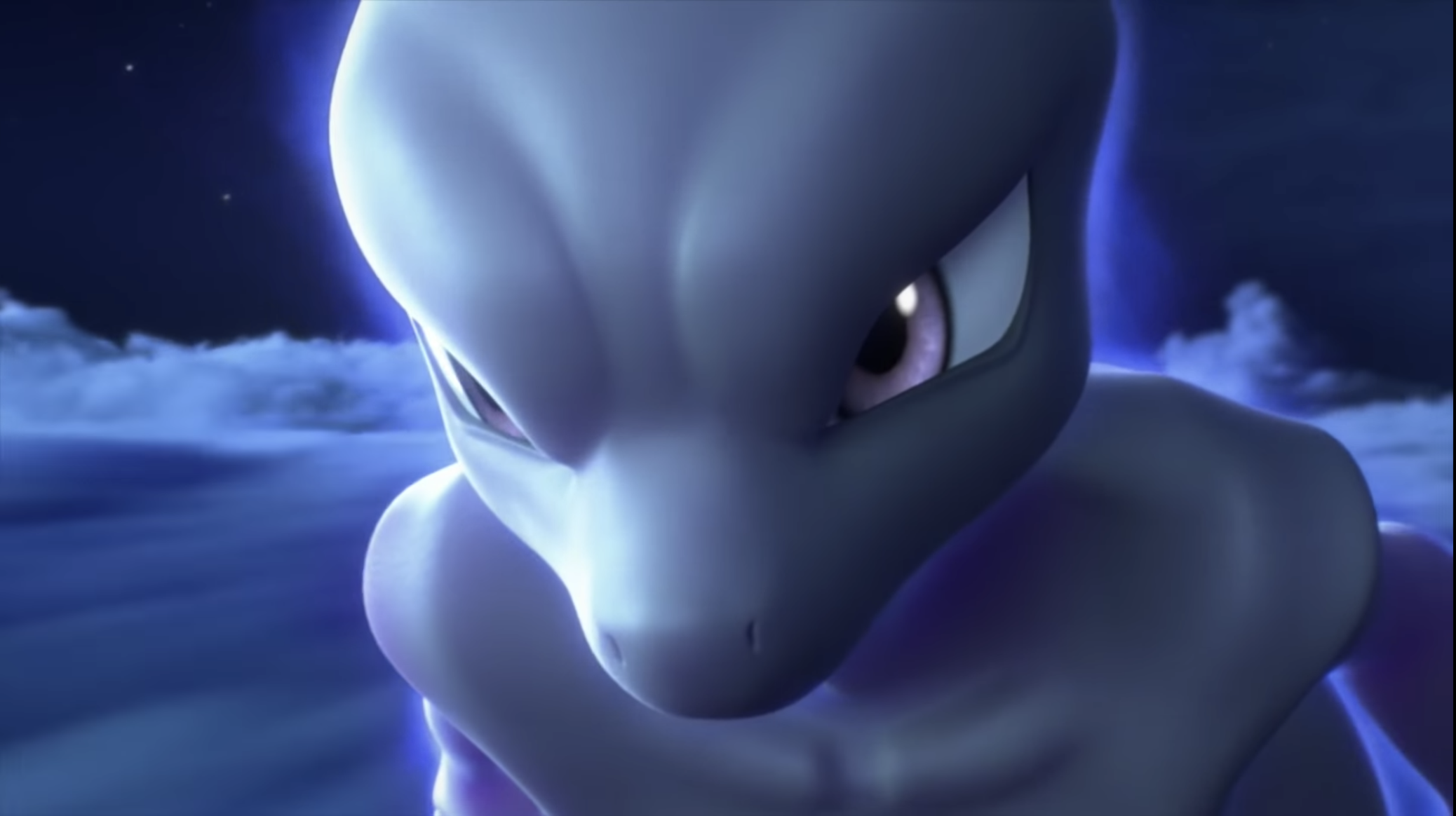 Mewtwo in Mewtwo Strikes Back Evolution trailer