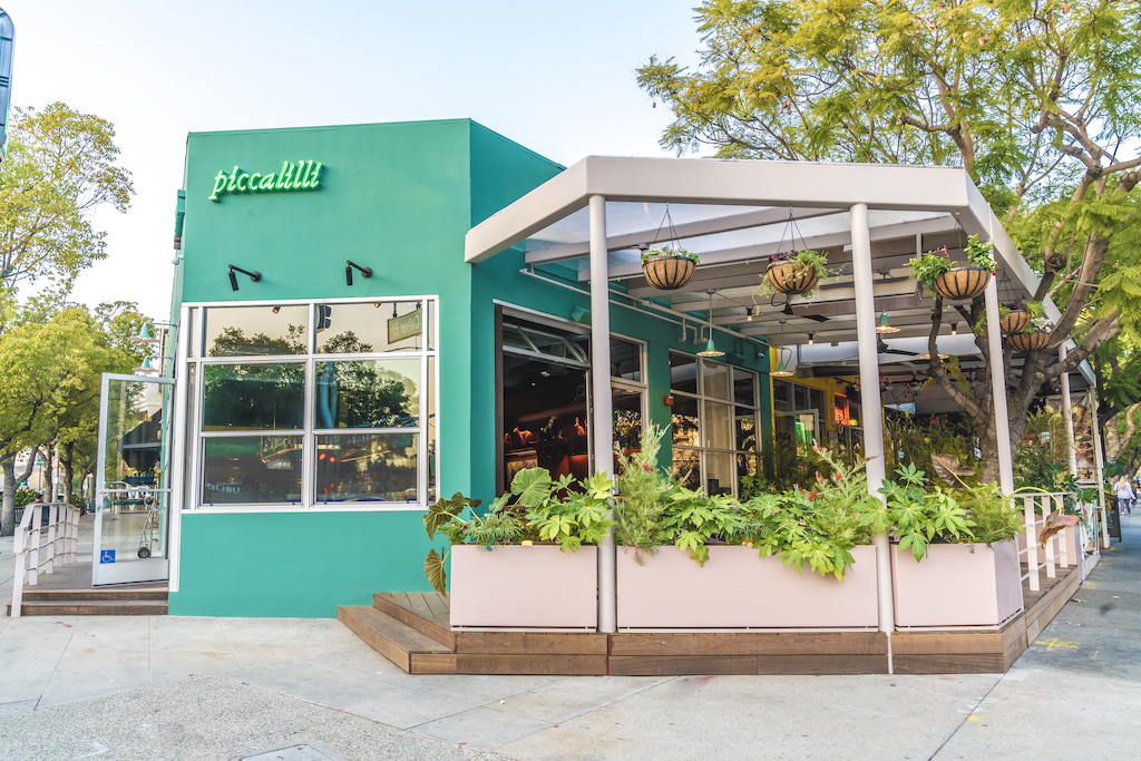 Piccalilli restaurant in Culver City