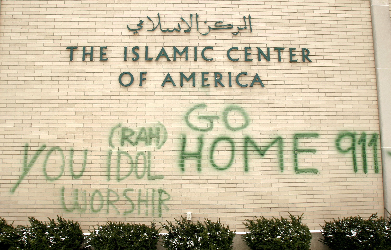 Detroit Area Mosques Vandalized