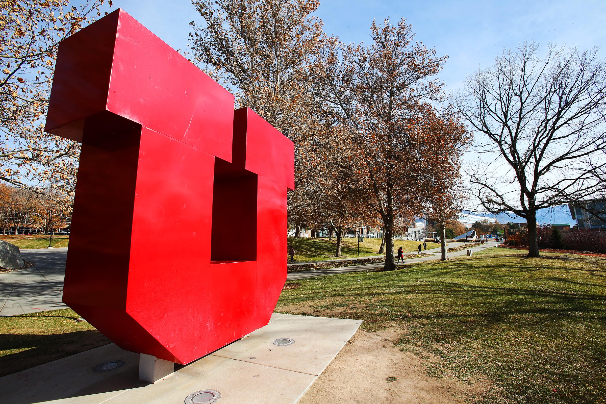 University of Utah in Salt Lake City on Monday, Nov. 18, 2019.