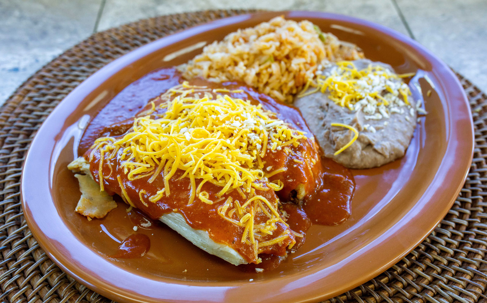 The two tamale combo