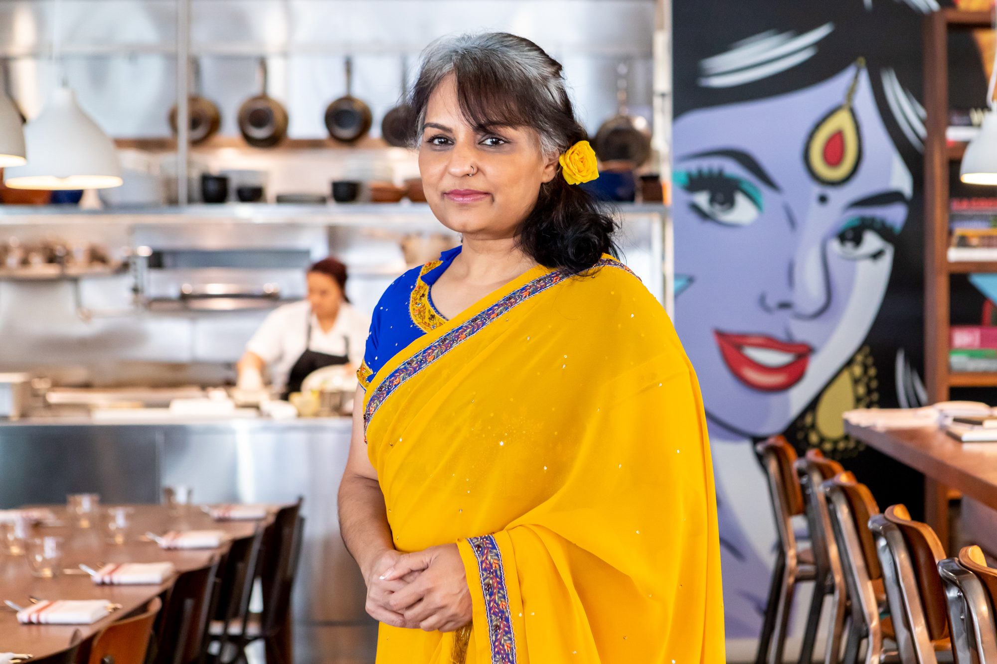 Chef Heena Patel at Besharam