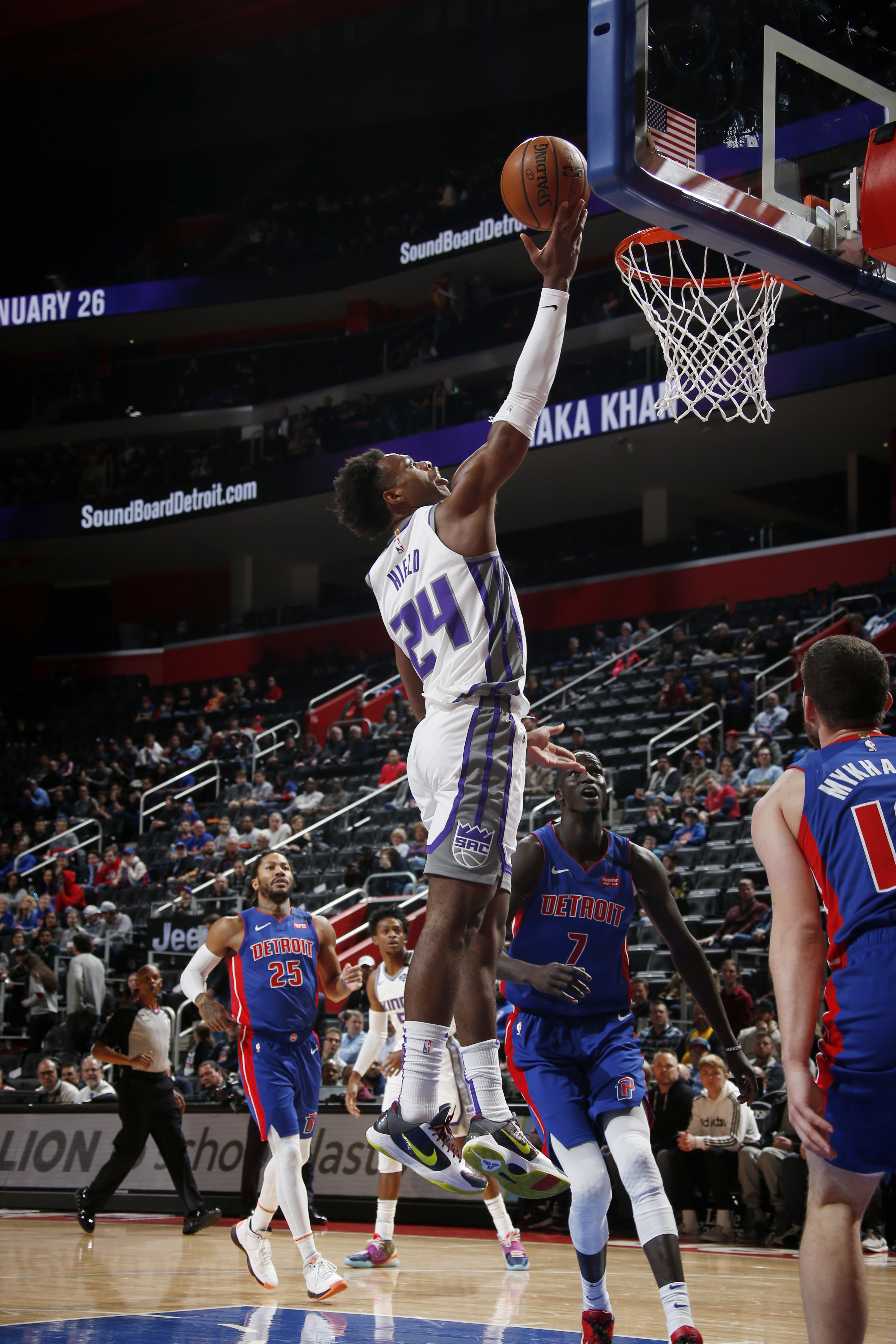 Sacramento Kings v Detroit Pistons