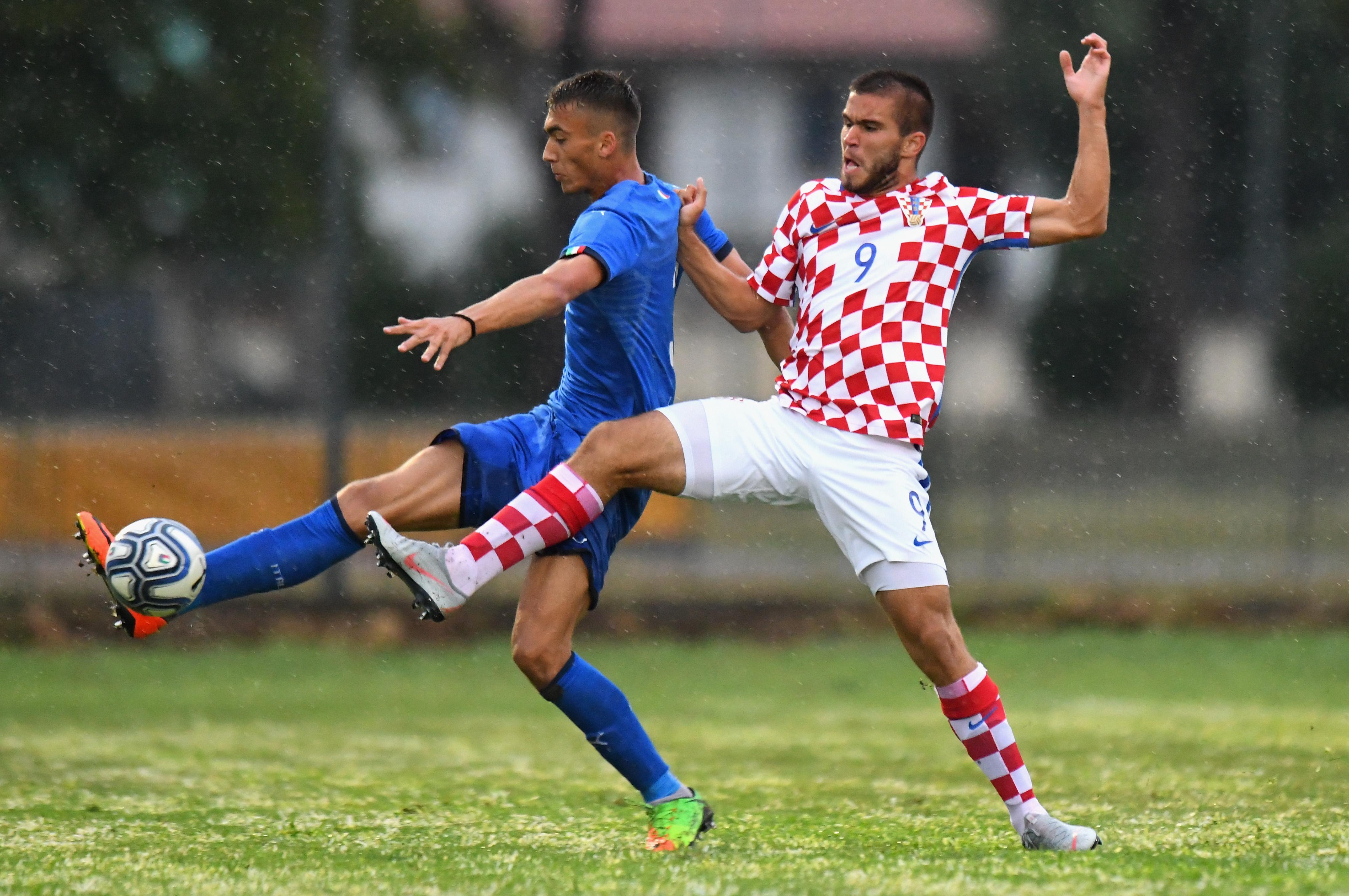 Italy U19 v Croatia U19 - International Friendly