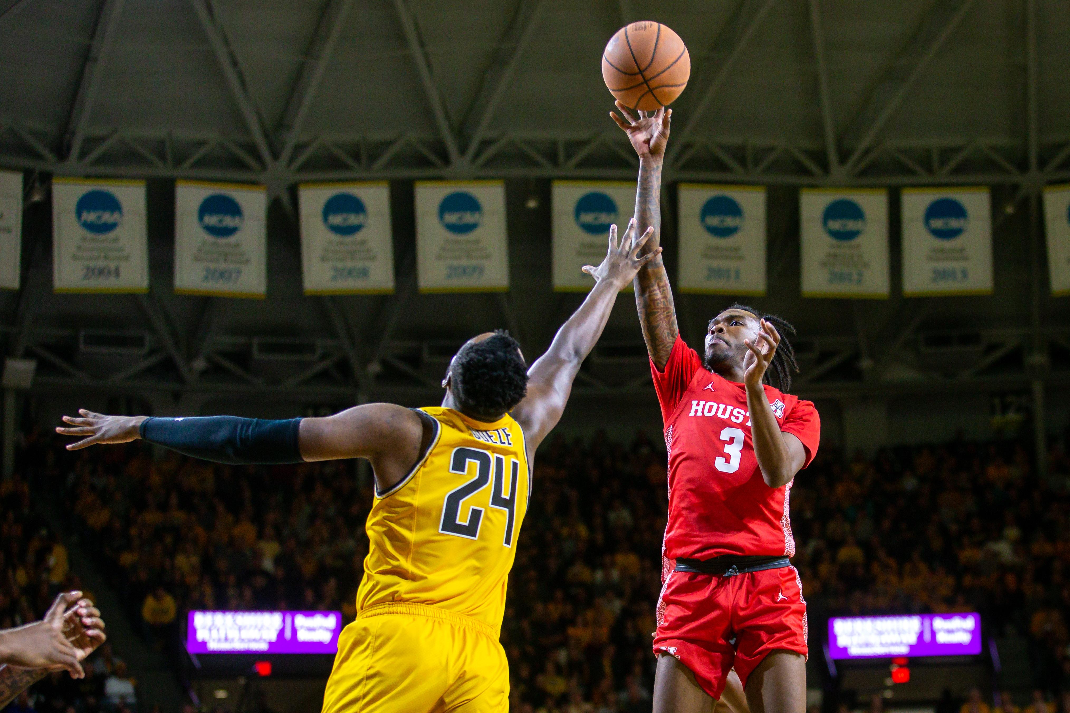 NCAA Basketball: Houston at Wichita State