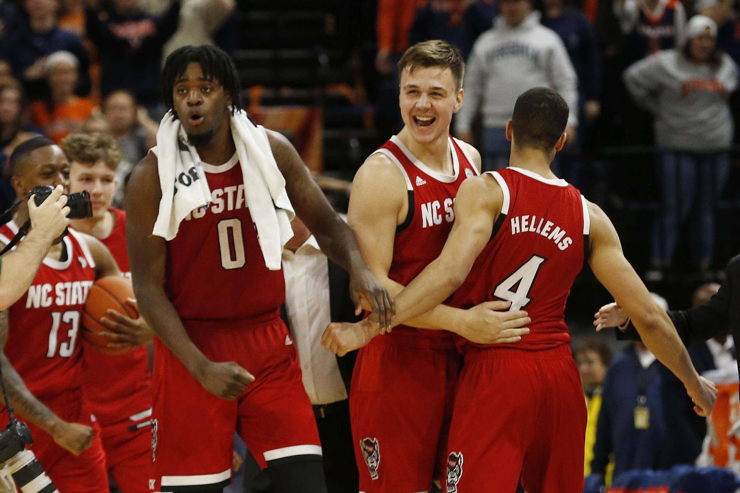 NCAA Basketball: N.C. State at Virginia