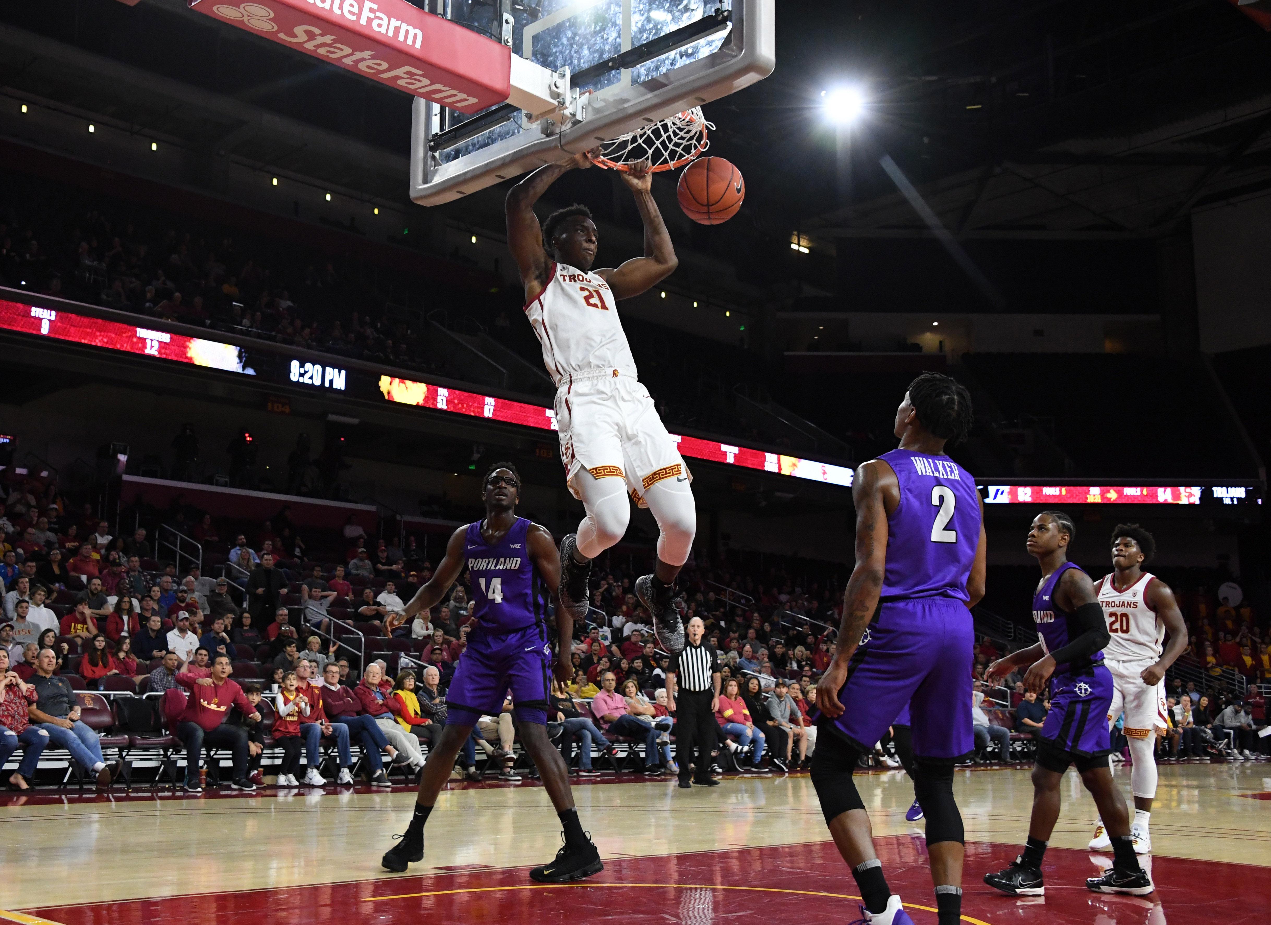 NCAA Basketball: Portland at Southern California
