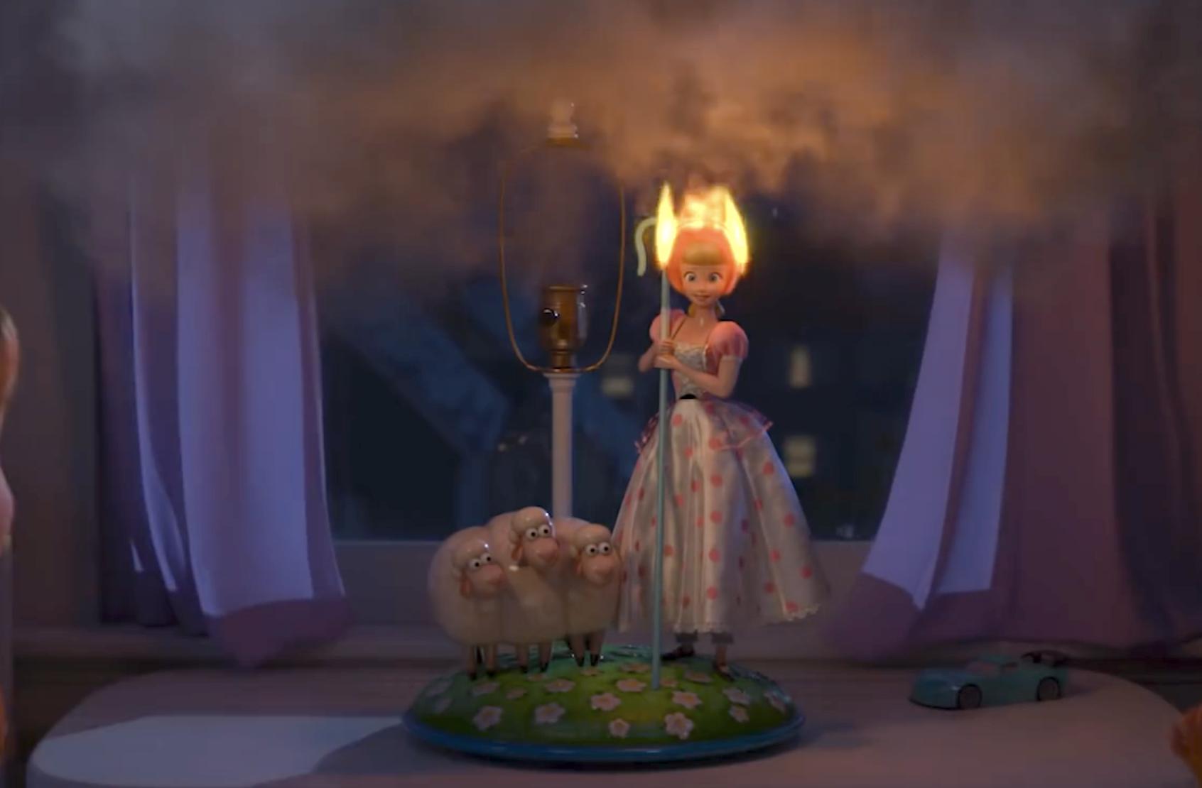 bo peep is on FIRE in Lamp Life