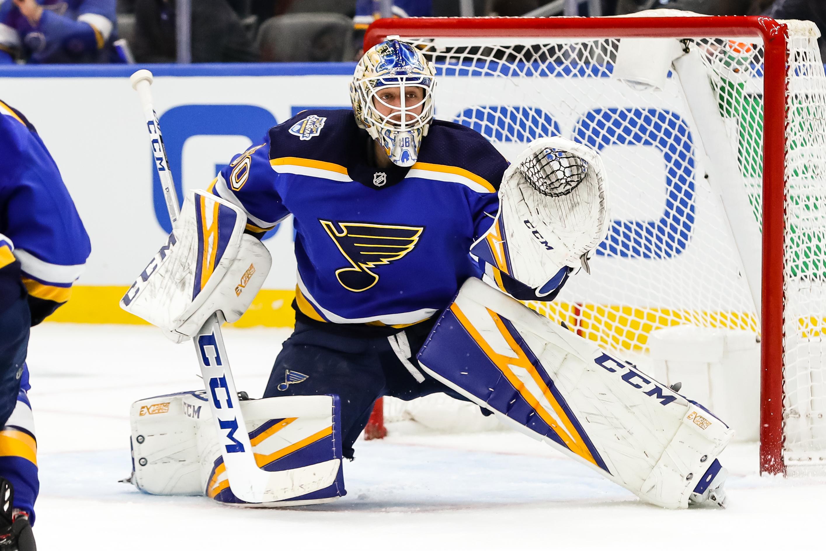 NHL: JAN 15 Flyers at Blues