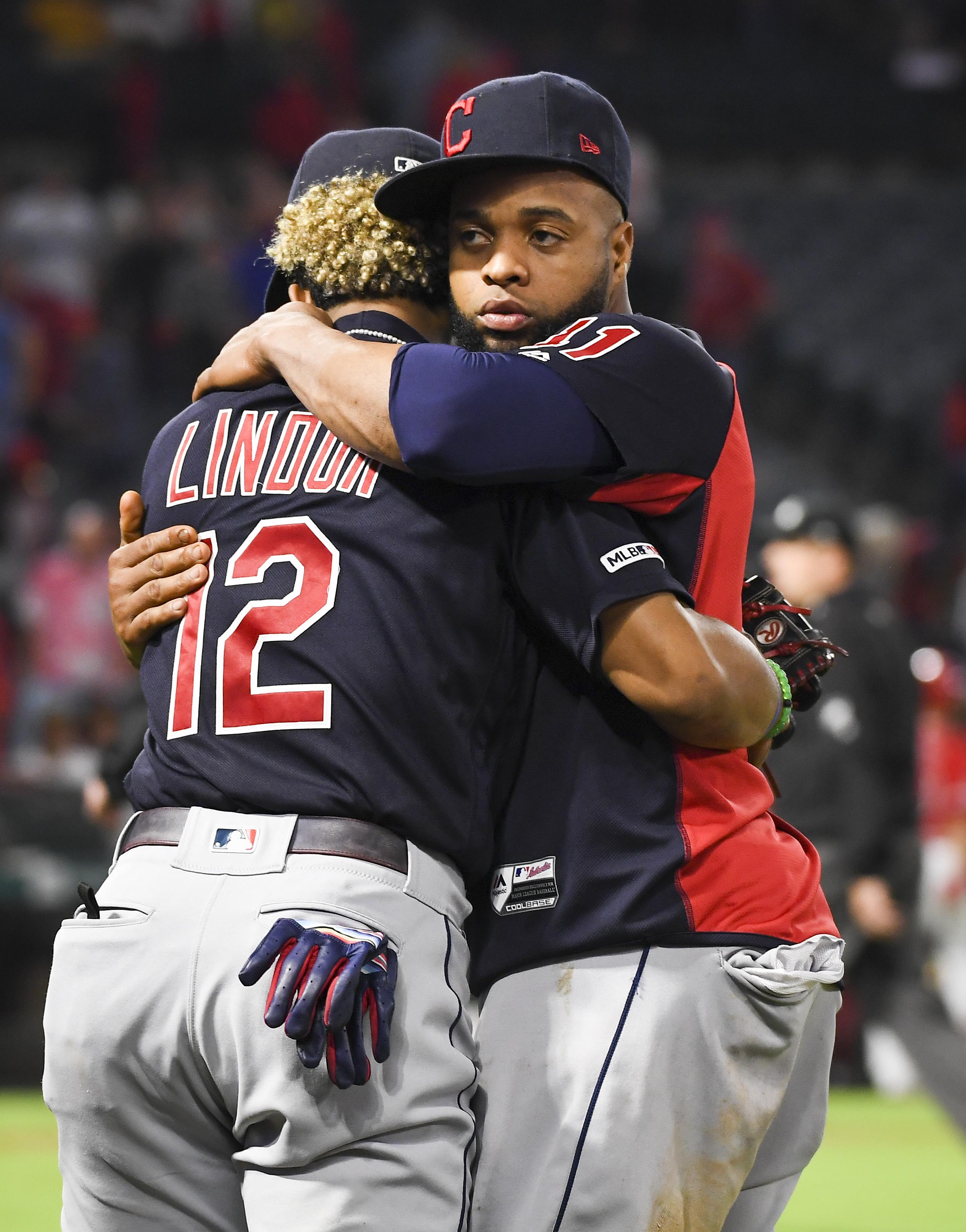 MLB: SEP 10 Indians at Angels