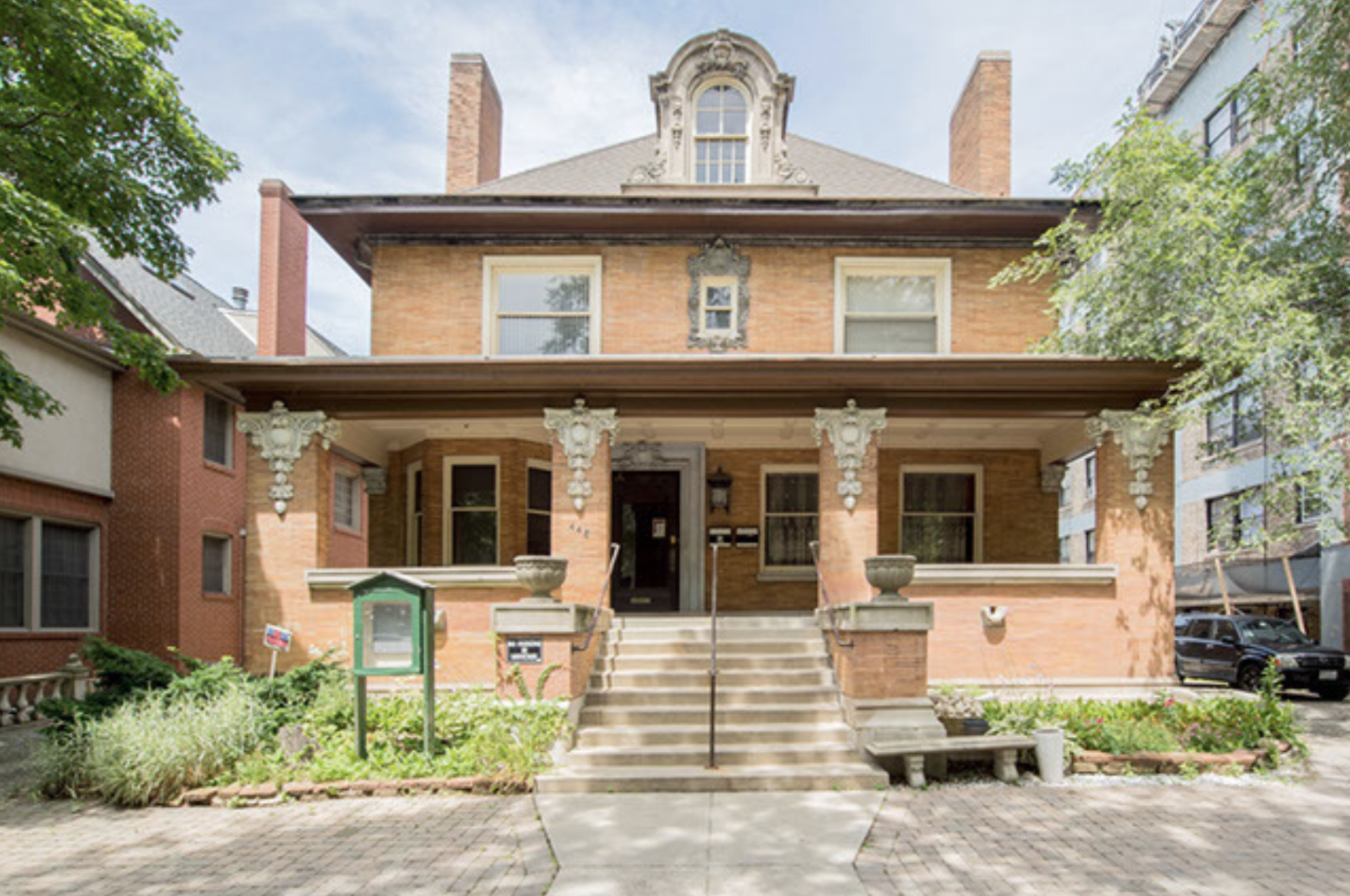 Lakeview's landmarked Daniel O. Hill House is back on the market as a $2.3M fixer-upper