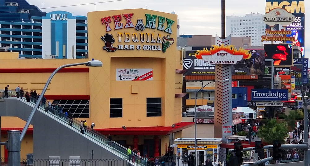 Tex Mex Tequila Bar & Grill's Arrival on the Strip Delayed