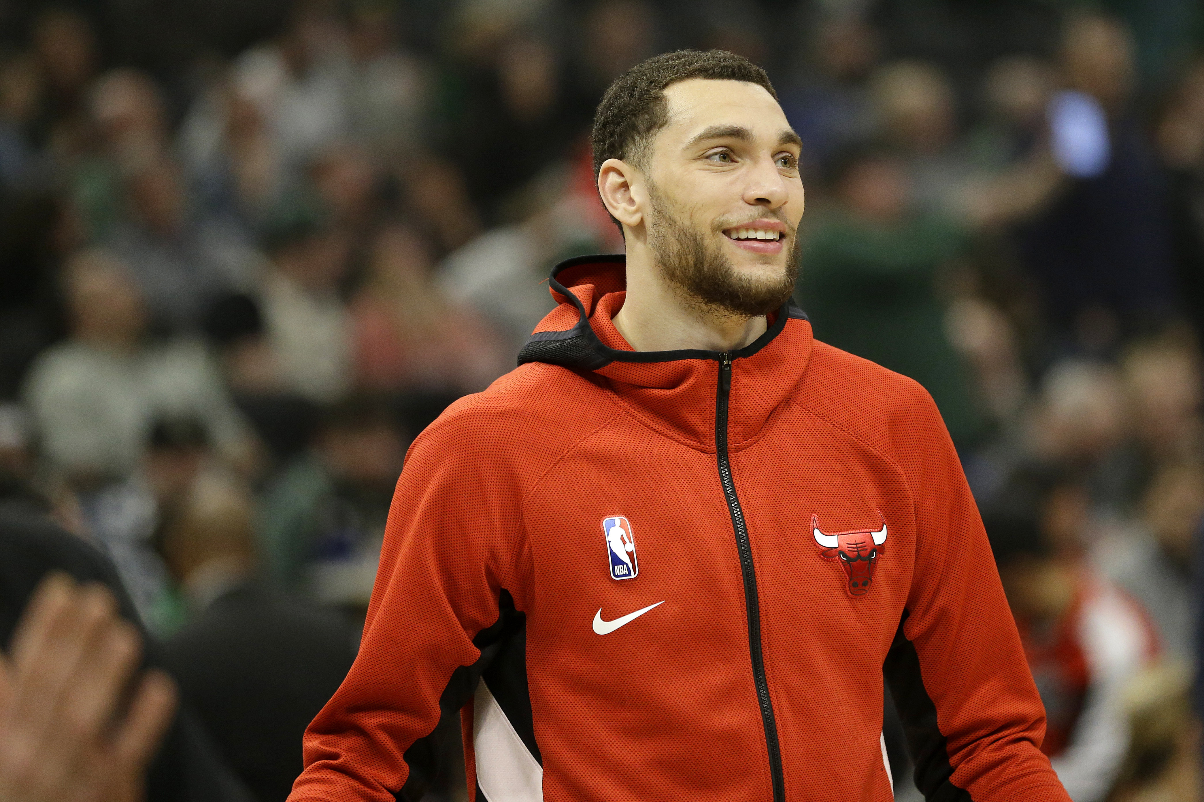 """""""I mean if they come to me and let me know, I think it would be great,'' Zach LaVine said of the Bulls front office discussing personnel decisions with him. """"If not I'm not taking offense to it either. It's not something that I'm asking for."""""""