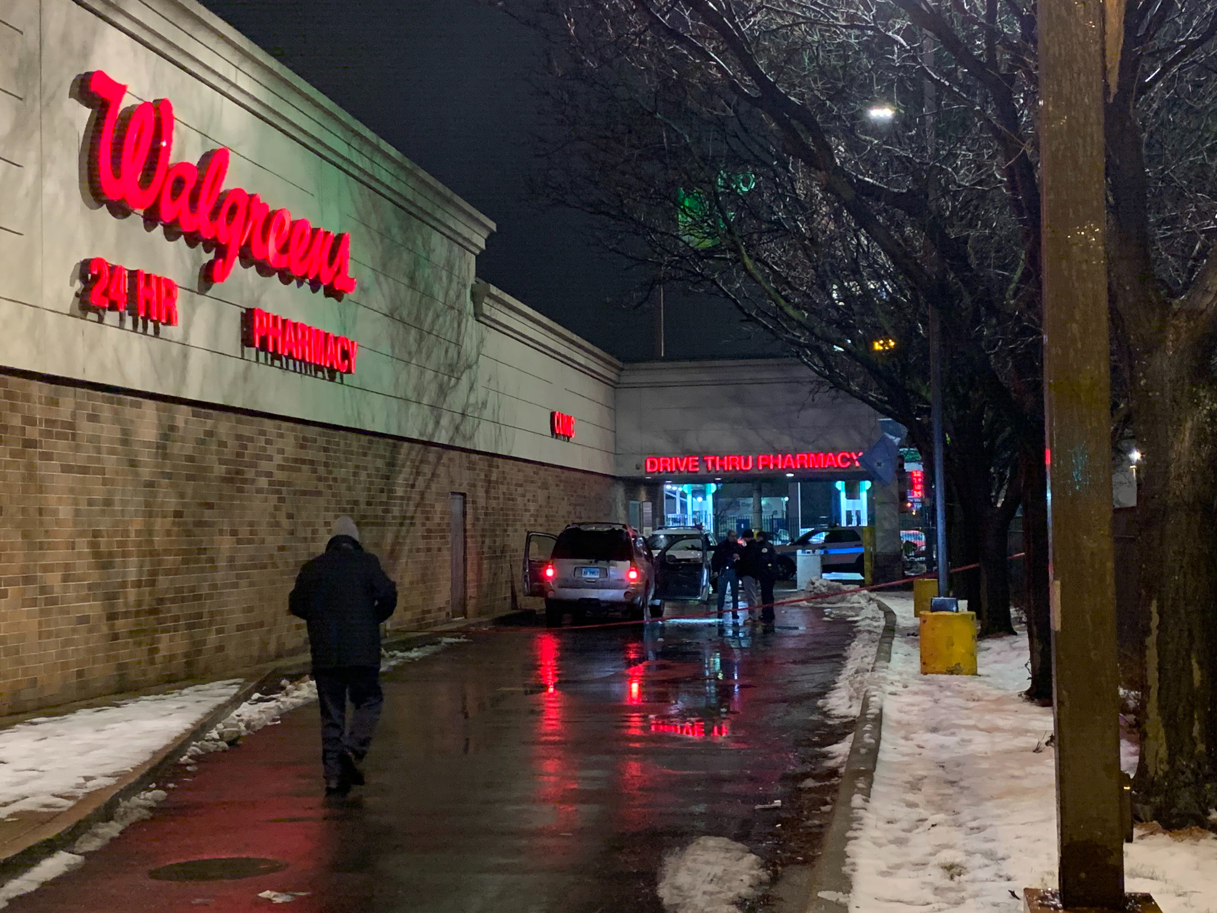 A man was killed in a shooting at a Walgreens