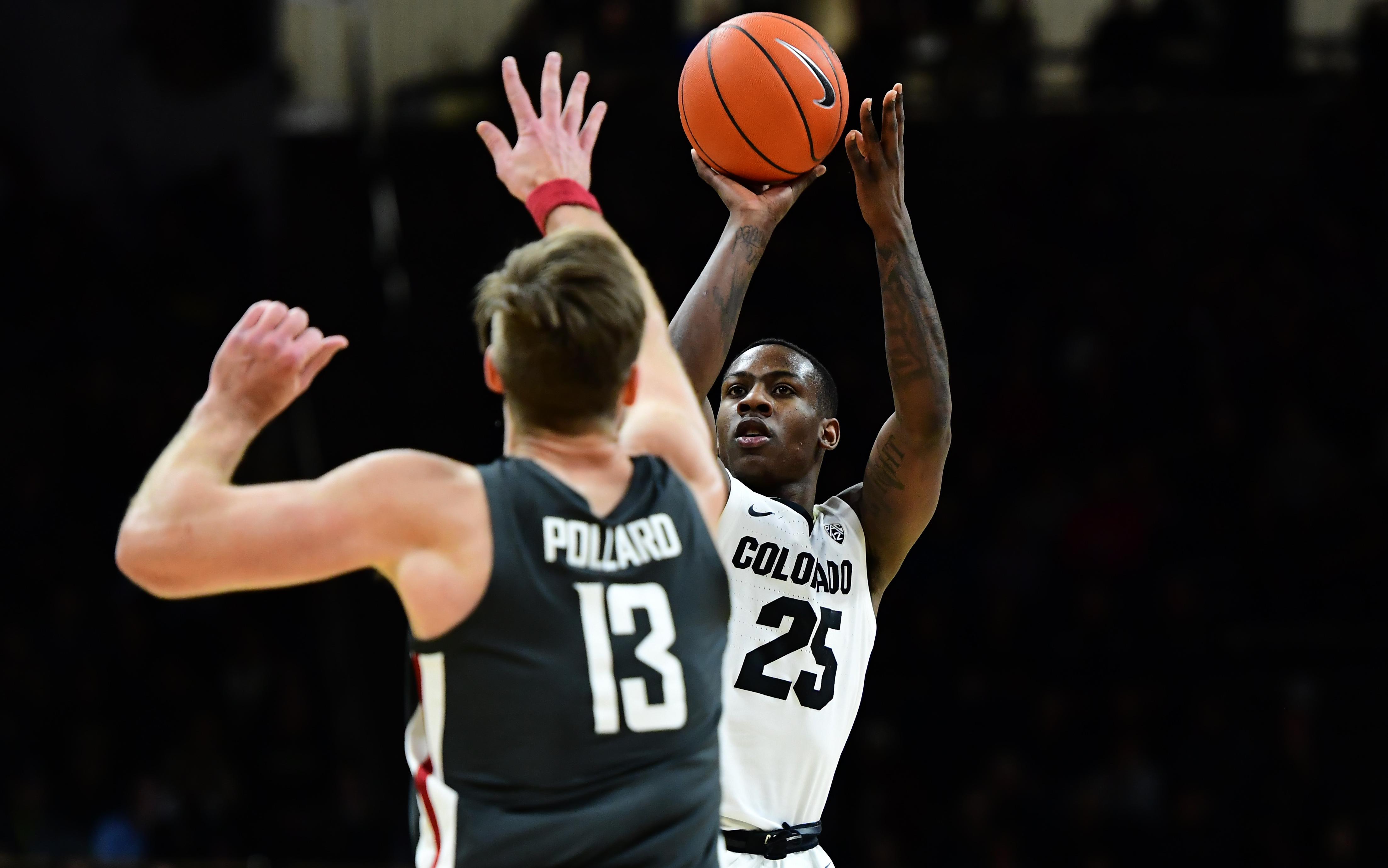 NCAA Basketball: Washington State at Colorado