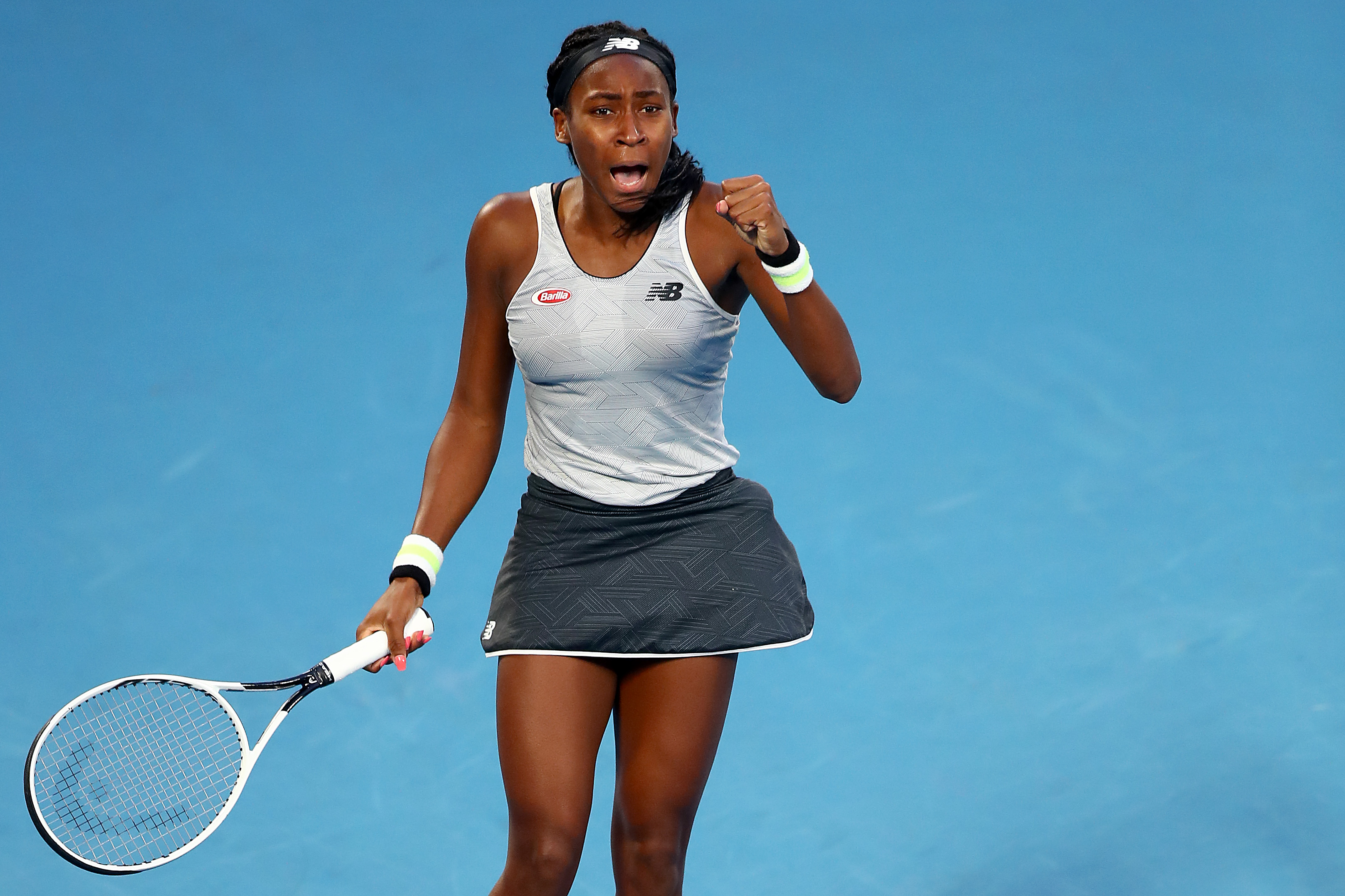 Coco Gauff looked completely unfazed in her win over Naomi Osaka