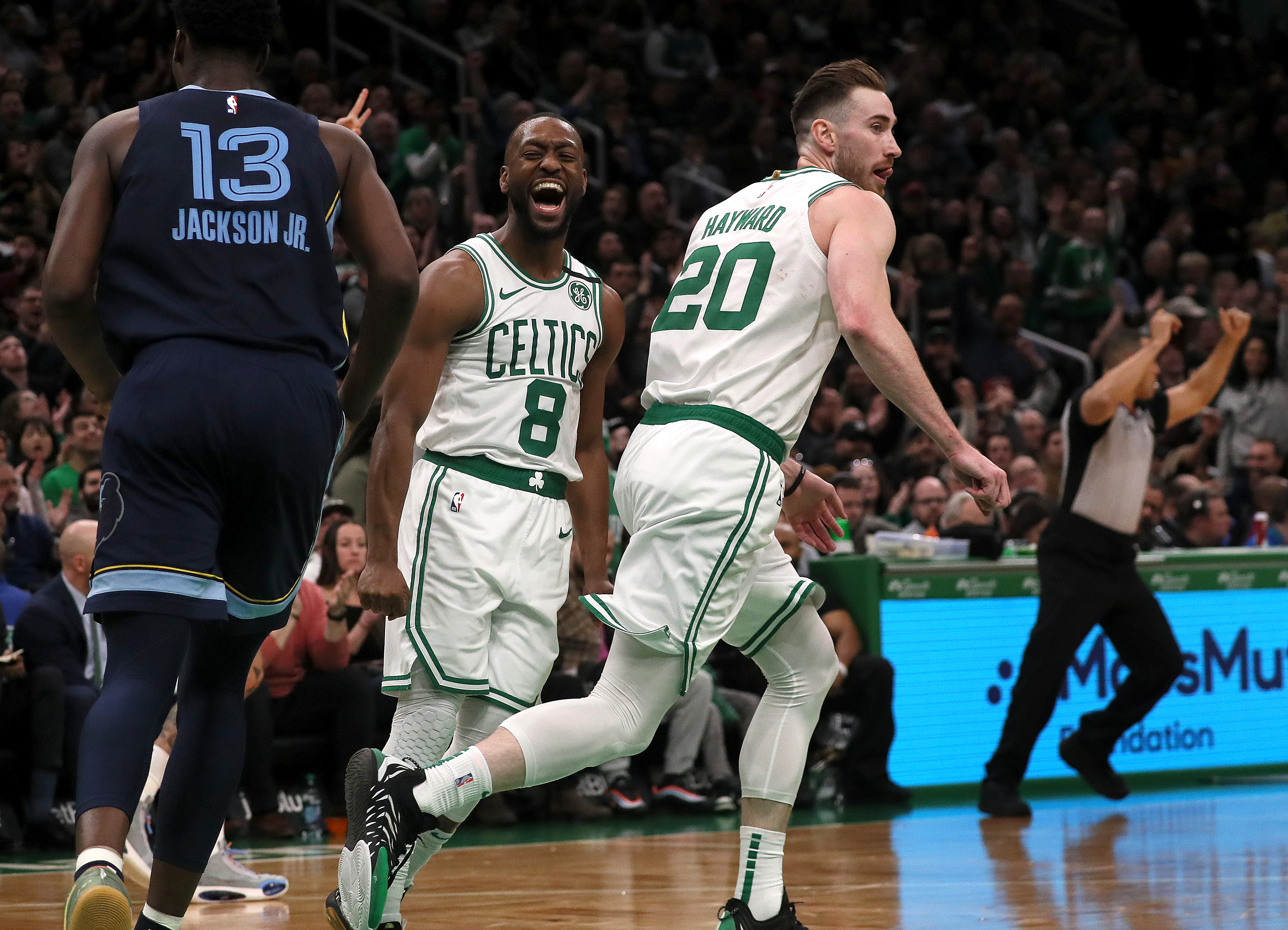 Memphis Grizzlies Vs. Boston Celtics at TD Garden