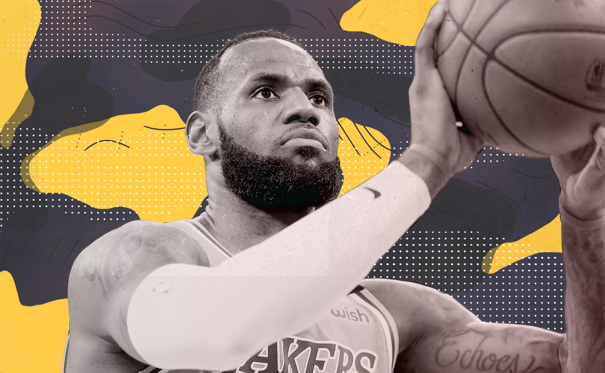 LeBron James isn't shooting as many free throws this season. Why?