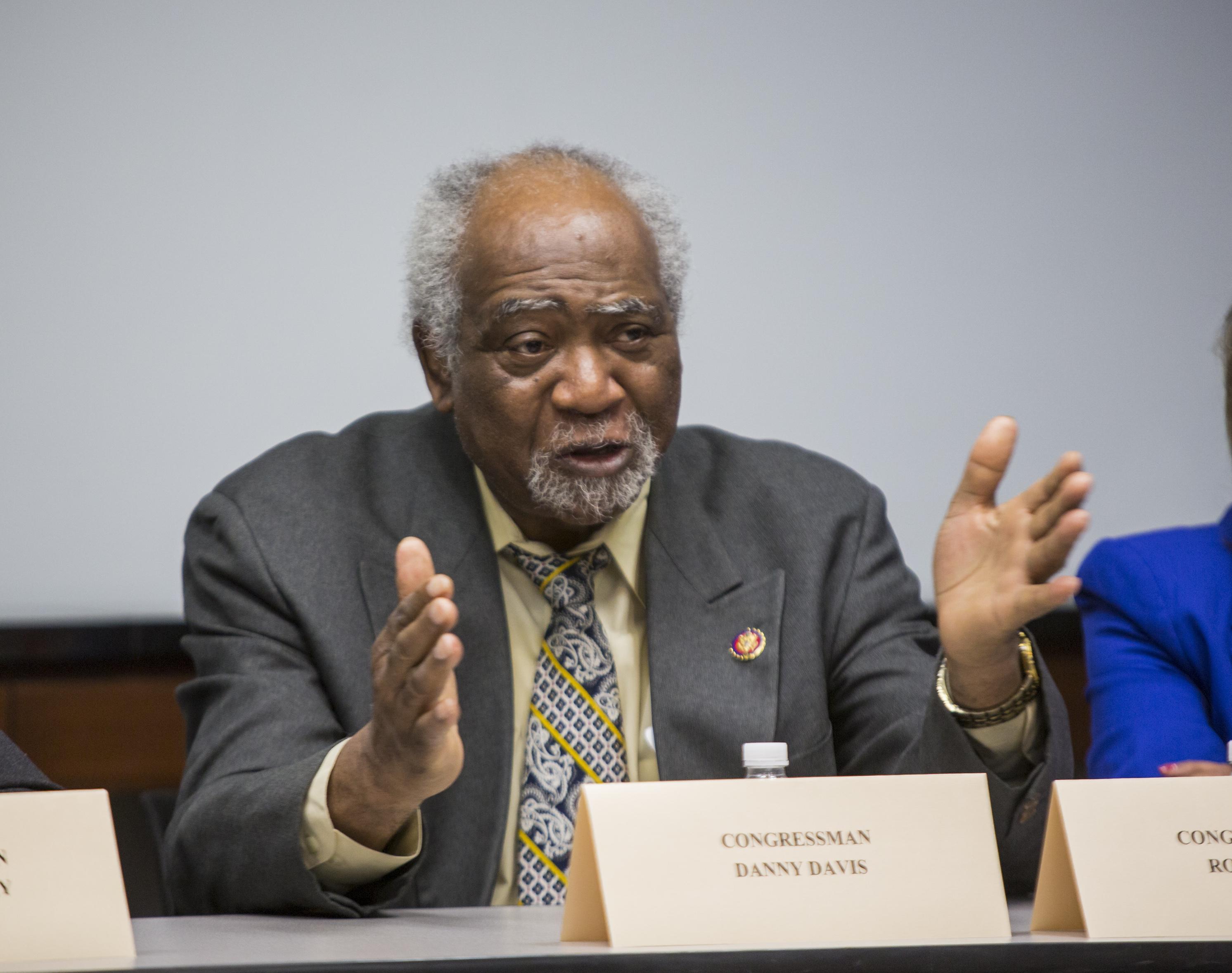 Danny K. Davis, 7th Congressional District Democratic nominee and incumbent, 2020 general election