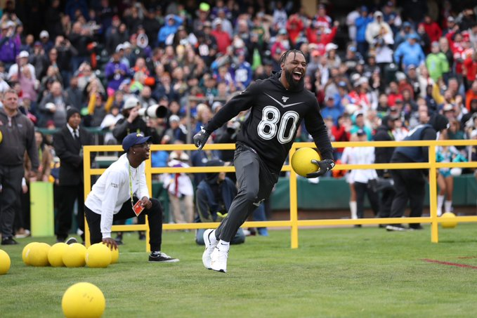Jarvis Landry is still the best NFL dodgeball player we've ever seen