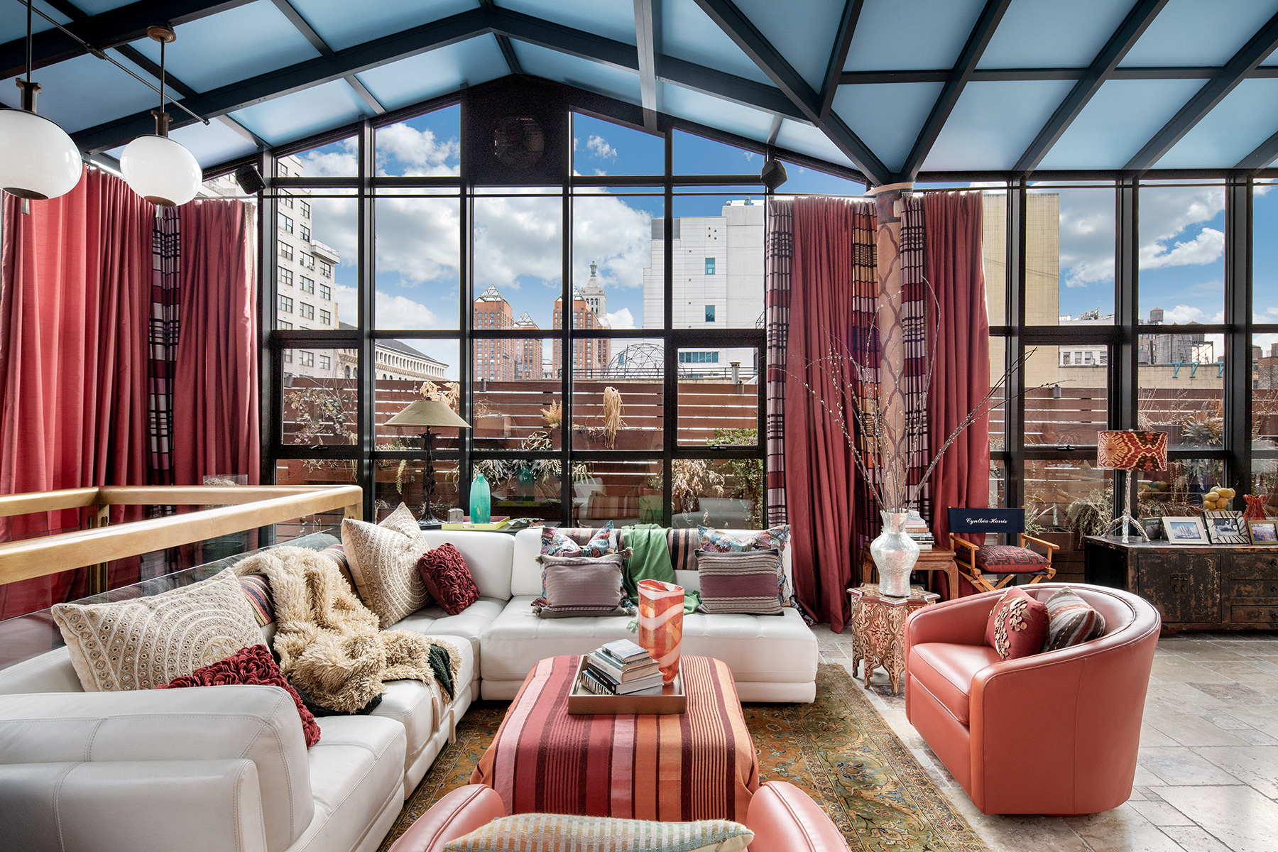 Sumptuous Greenwich Village penthouse with rooftop conservatory seeks $5.5M