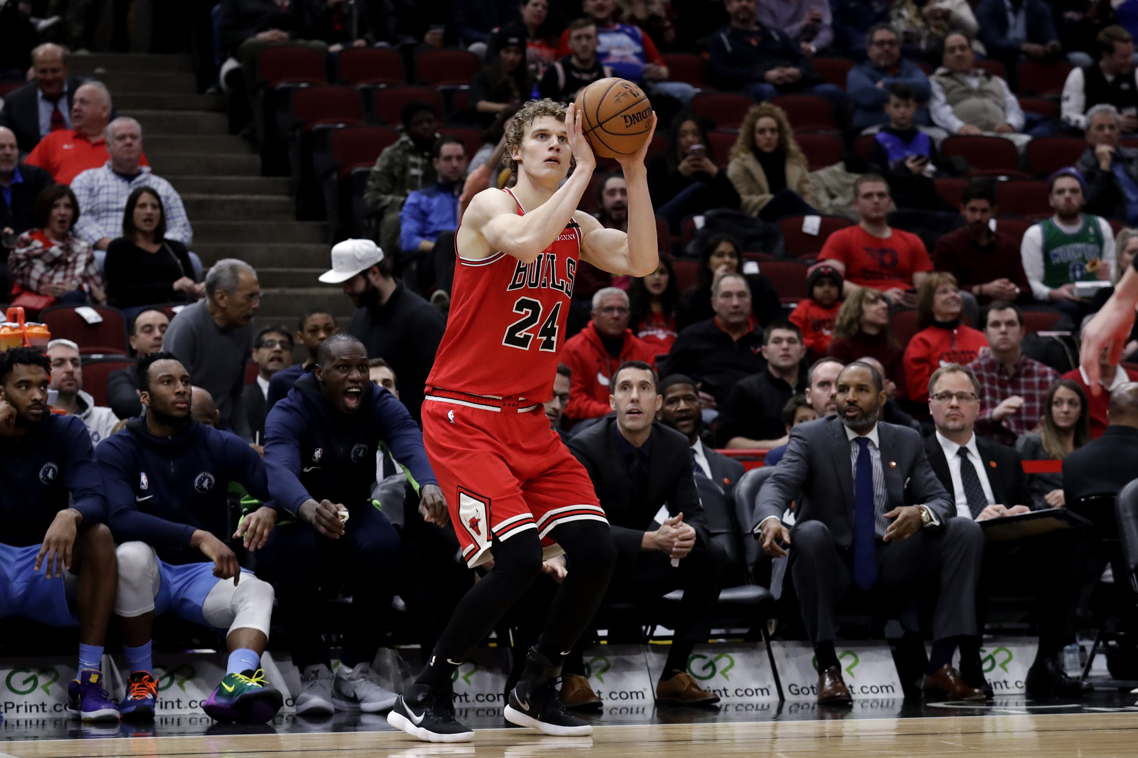 A hip injury will likely sideline Lauri Markkanen for 4-6 weeks.