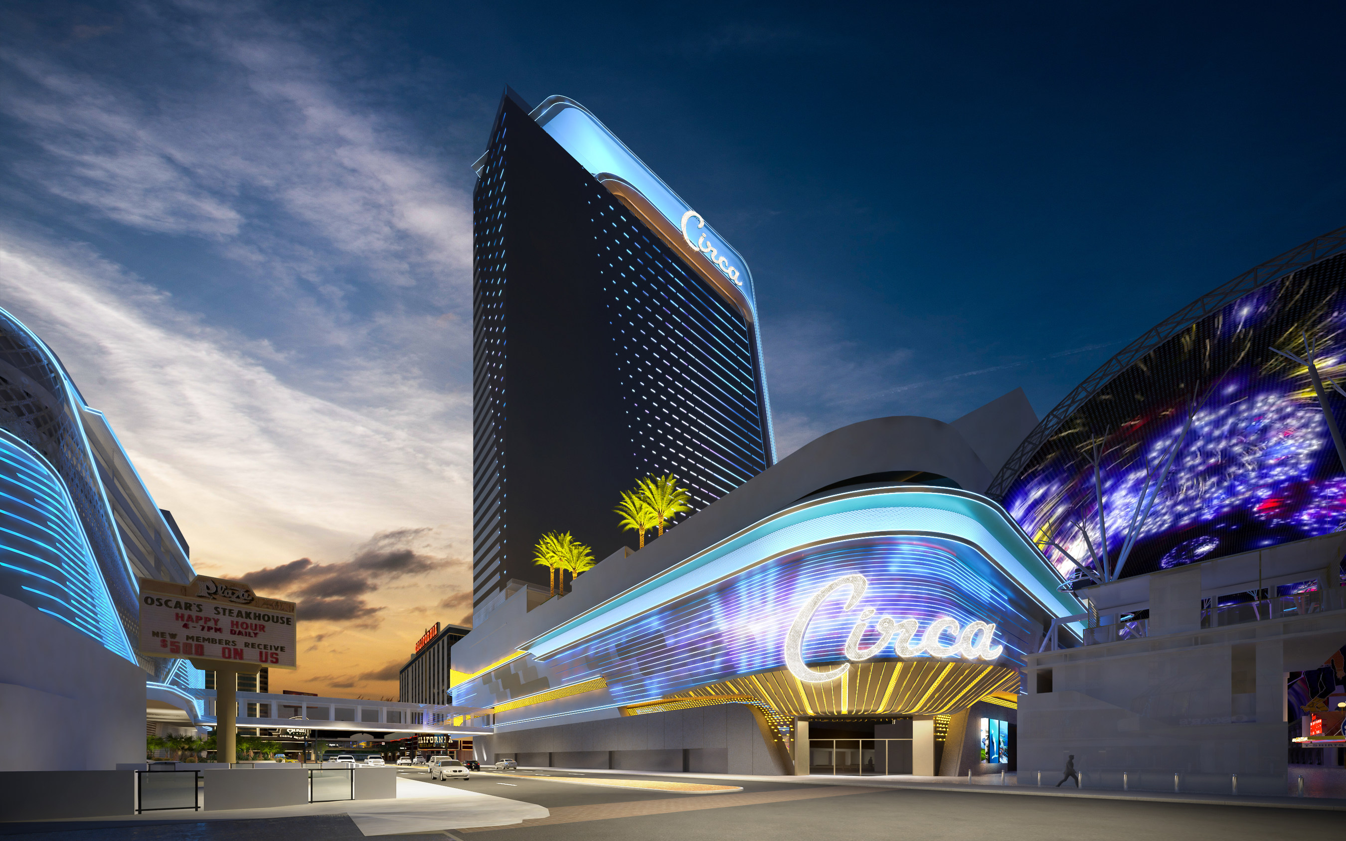 The Circa Resort & Casino in downtown Las Vegas is slated to open in December.