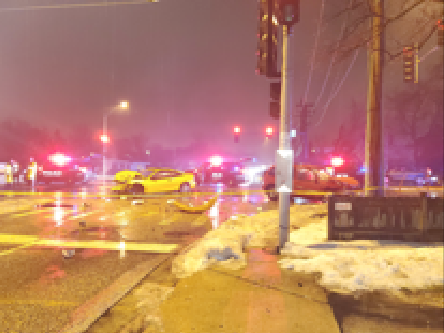 A driver was killed in a crash Jan. 24, 2020, at Arlington Heights Road and Hintz Road in Arlington Heights.