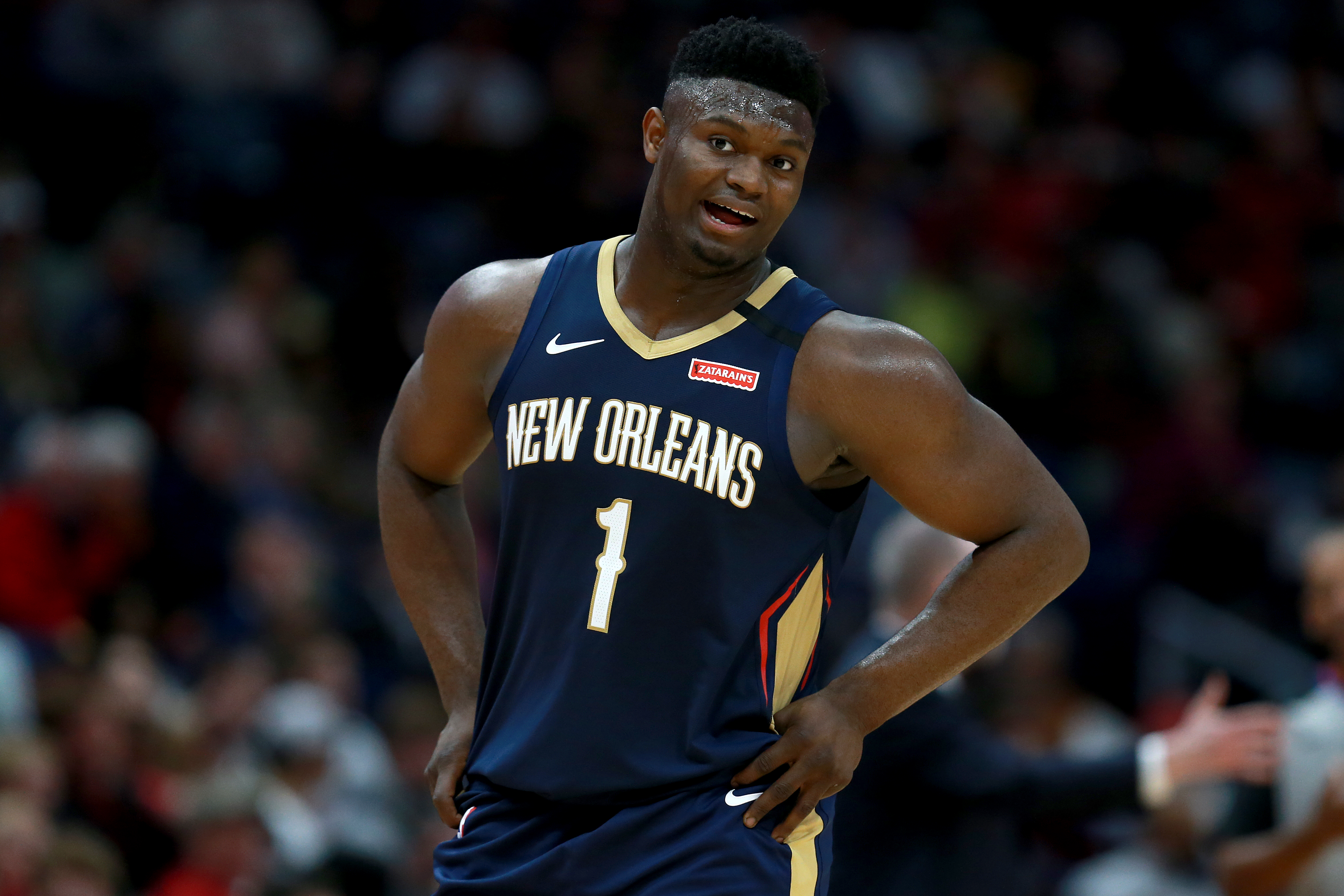 How Zion Williamson is being used by the Pelicans in his earliest NBA games