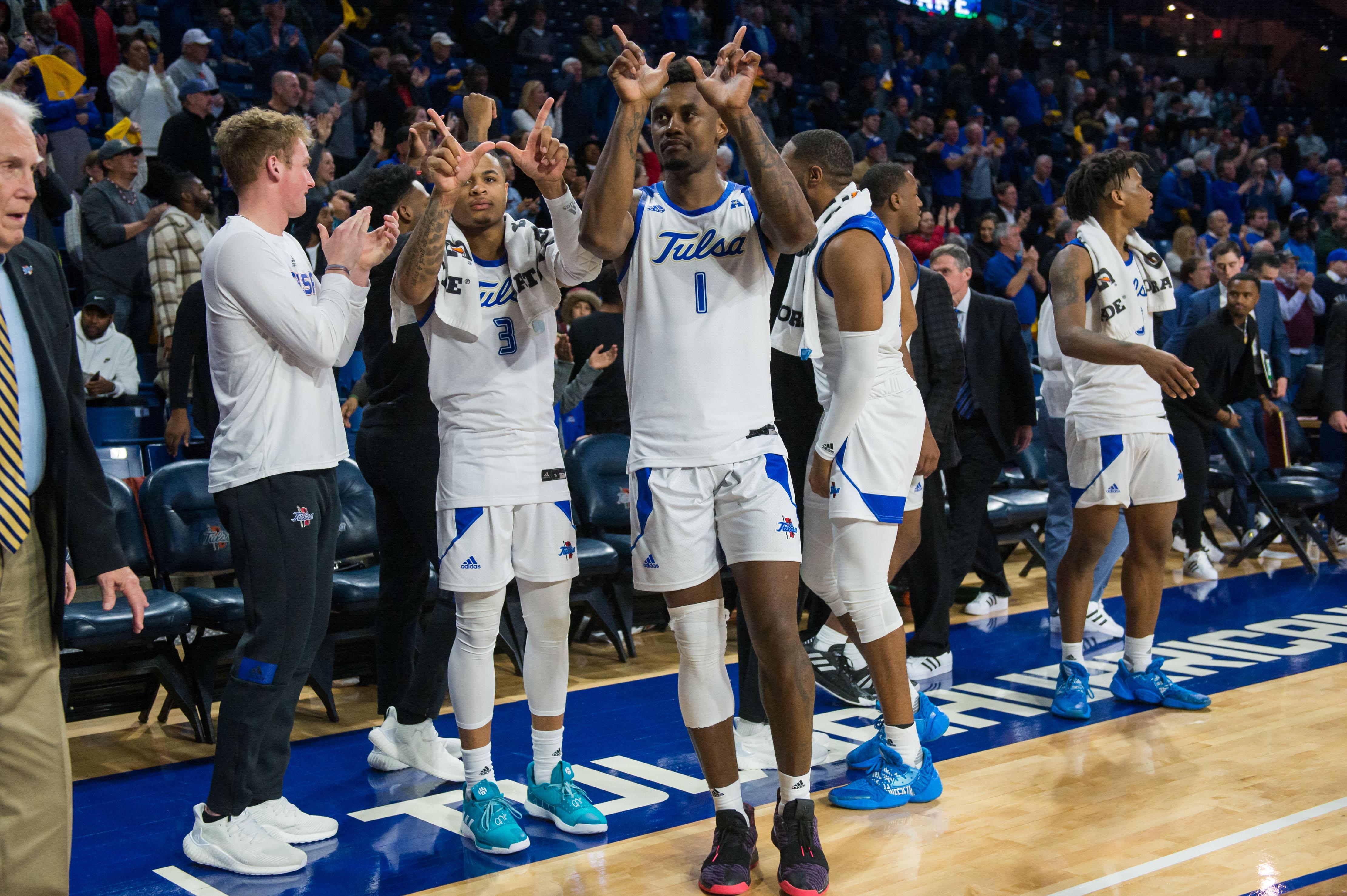 NCAA Basketball: Memphis at Tulsa