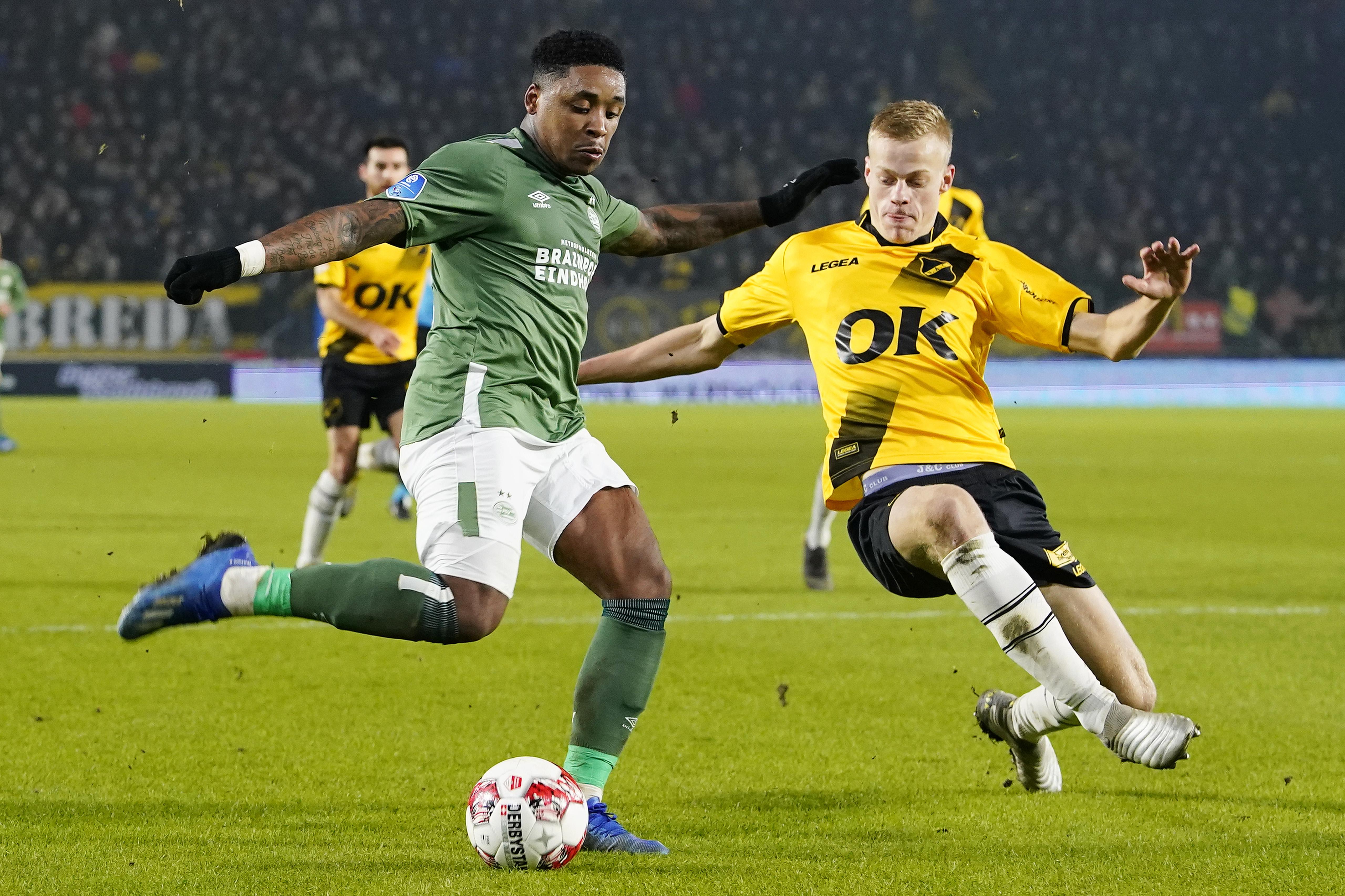 NAC Breda v PSV - Dutch KNVB Beker
