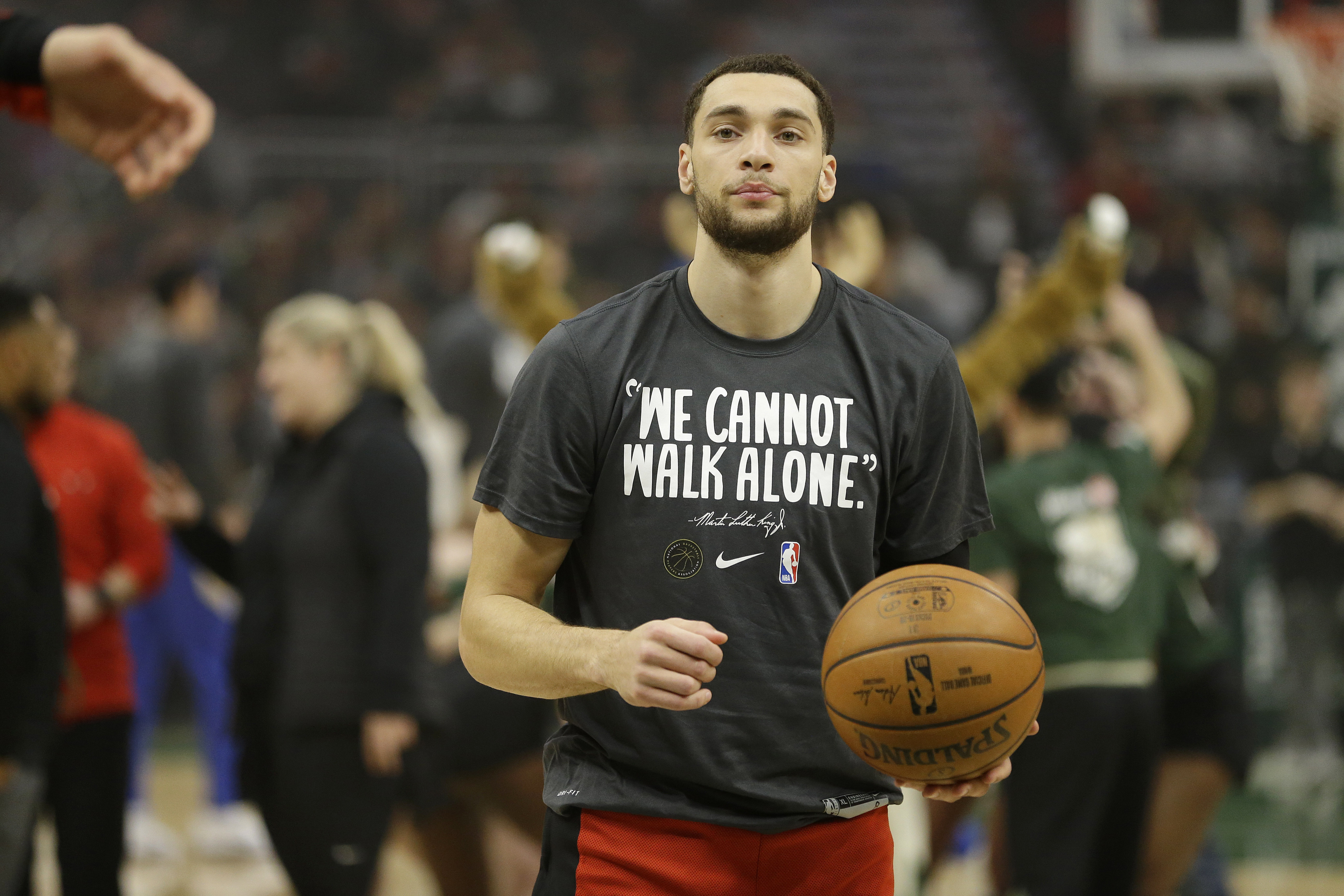 """""""We have not talked about that,'' Bulls coach Jim Boylen said of the team making deals to bring in help for Zach Lavine."""
