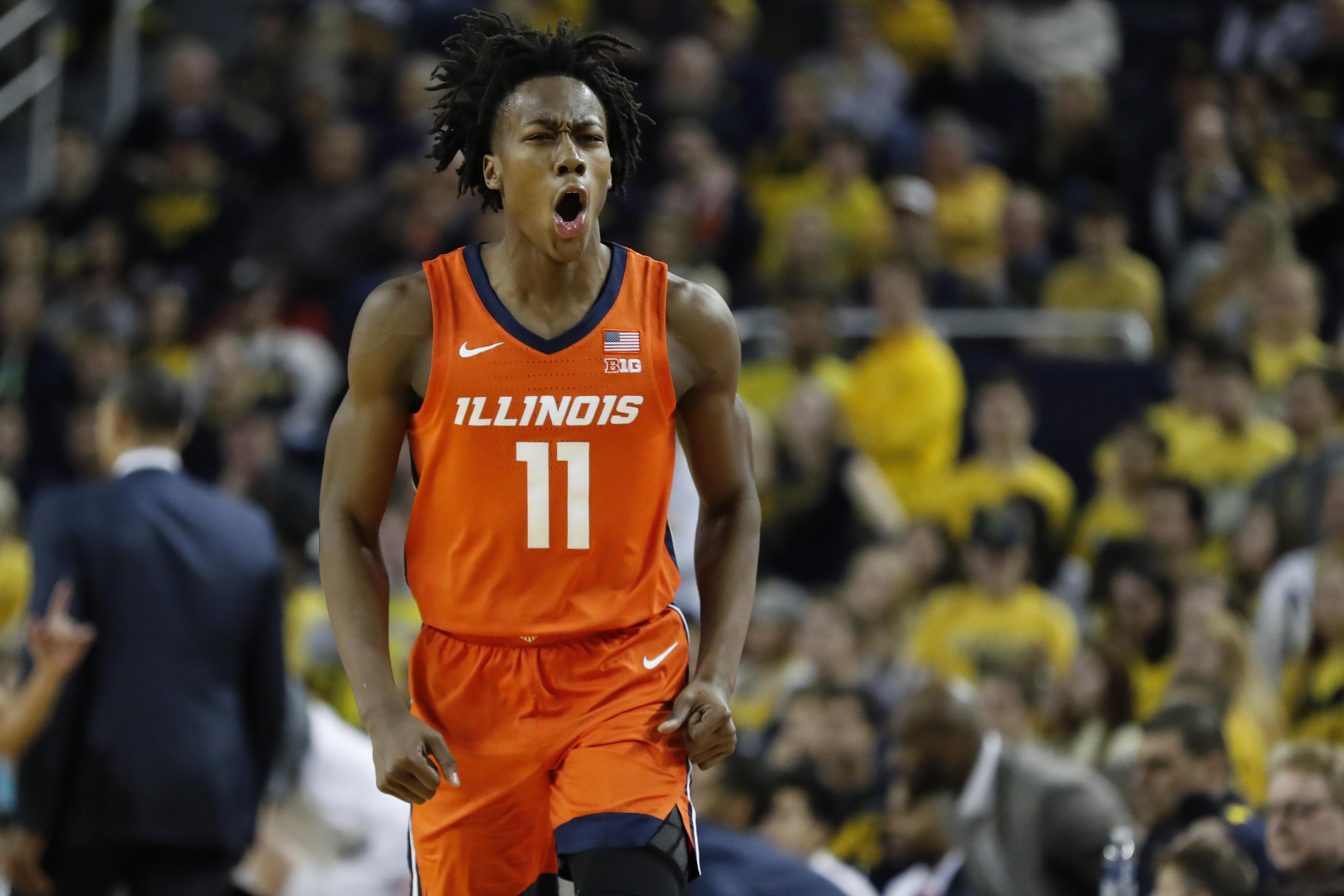 NCAA Basketball: Illinois at Michigan