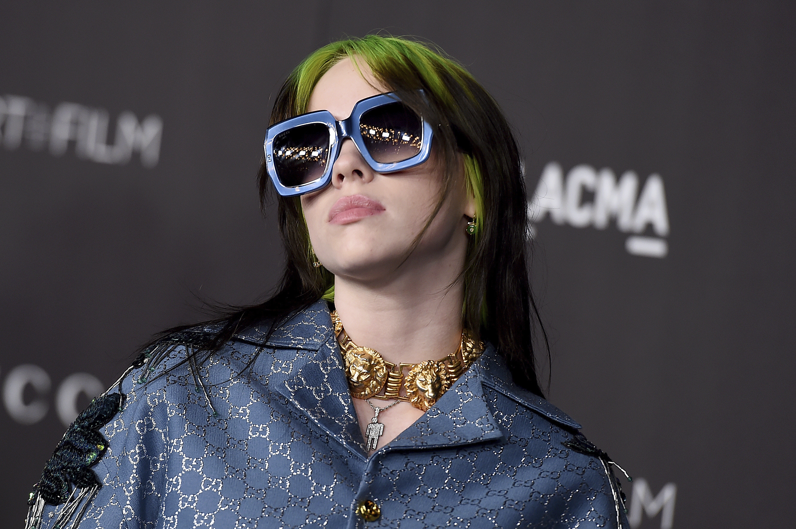 This Nov. 2, 2019 file photo shows singer Billie Eilish at the 2019 LACMA Art and Film Gala in Los Angeles.