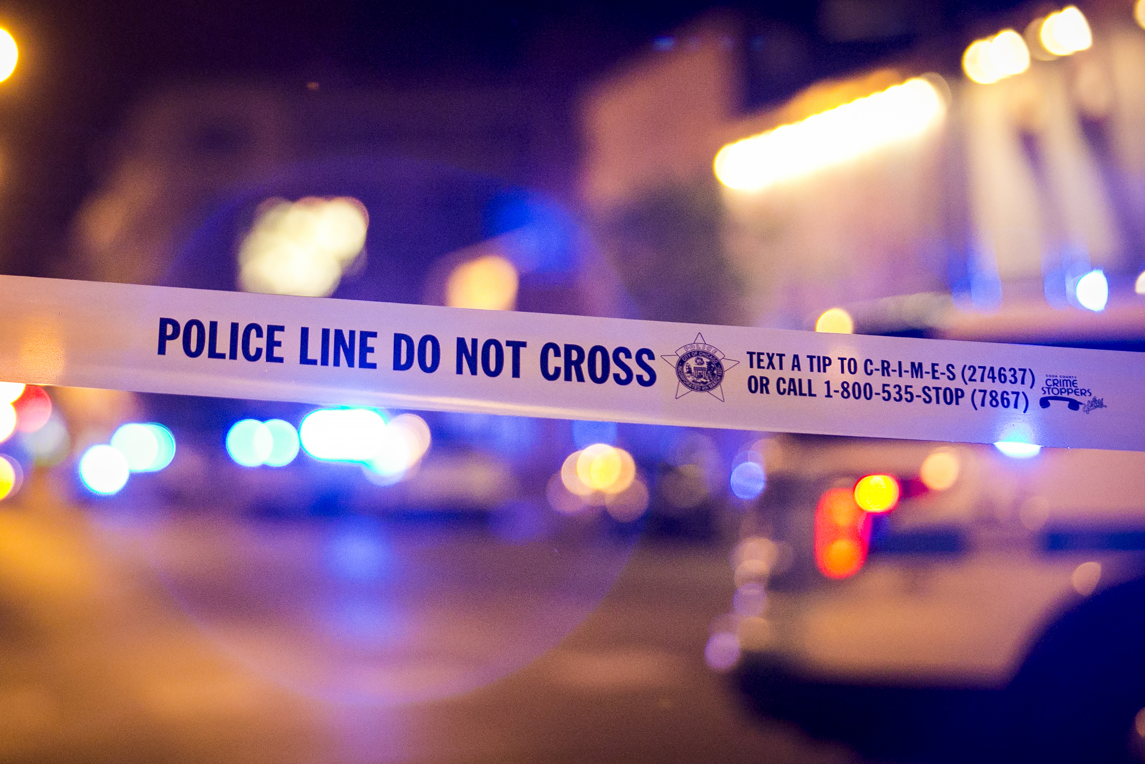 A man is facing a DUI charge after a crash with a squad car that injured a pair of Chicago police officers Jan. 23, 2020, in the 3300 block of North Laramie Avenue.