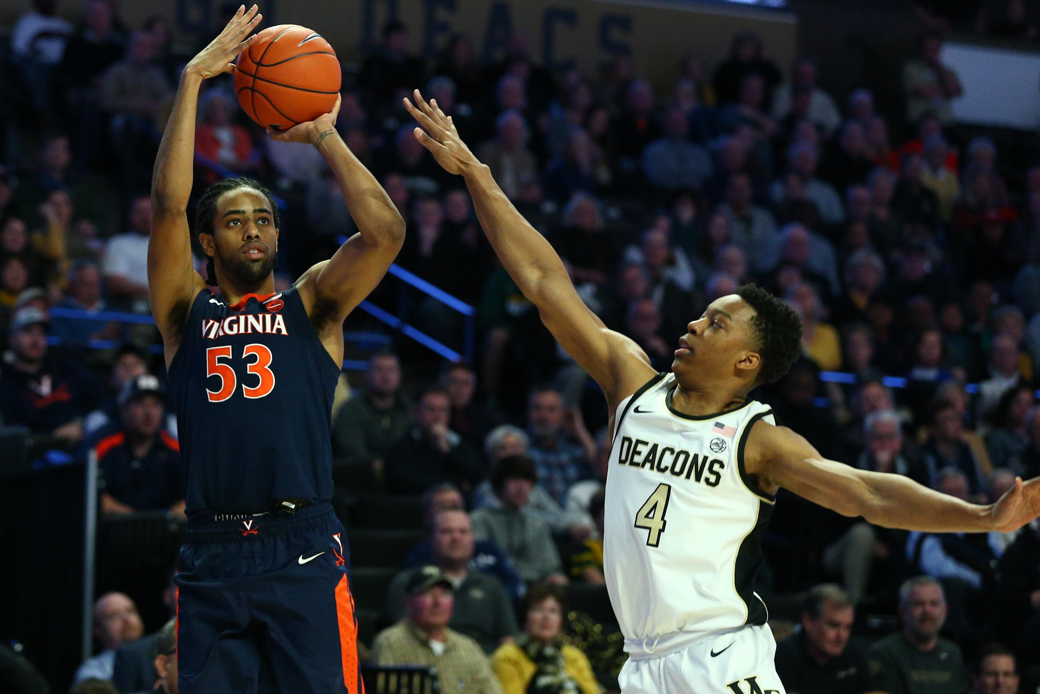NCAA Basketball: Virginia at Wake Forest