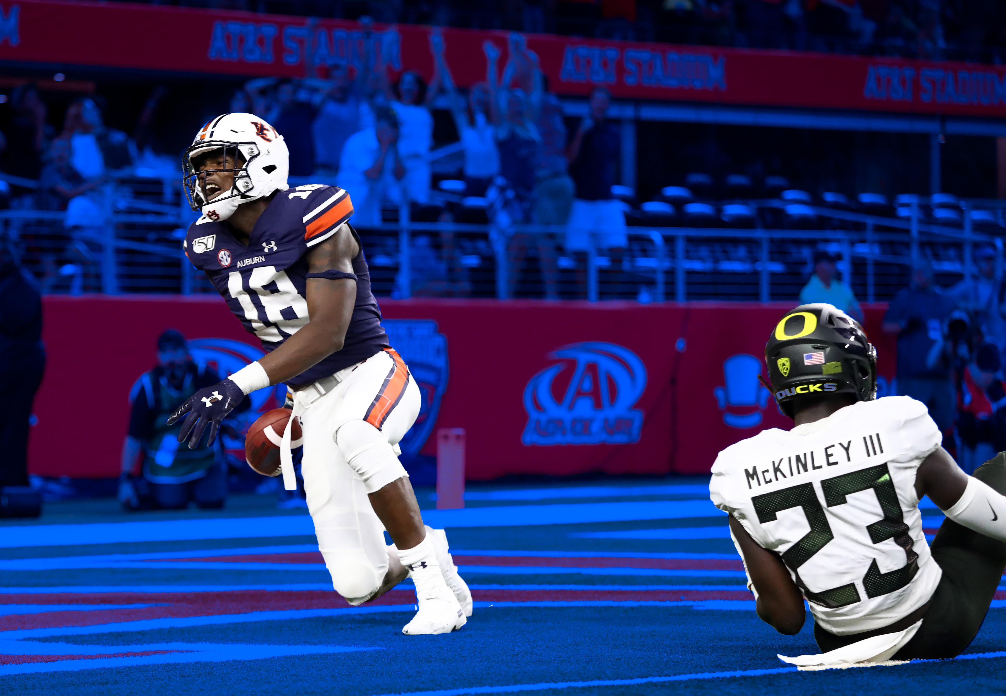 Auburn beats Oregon in 2019.