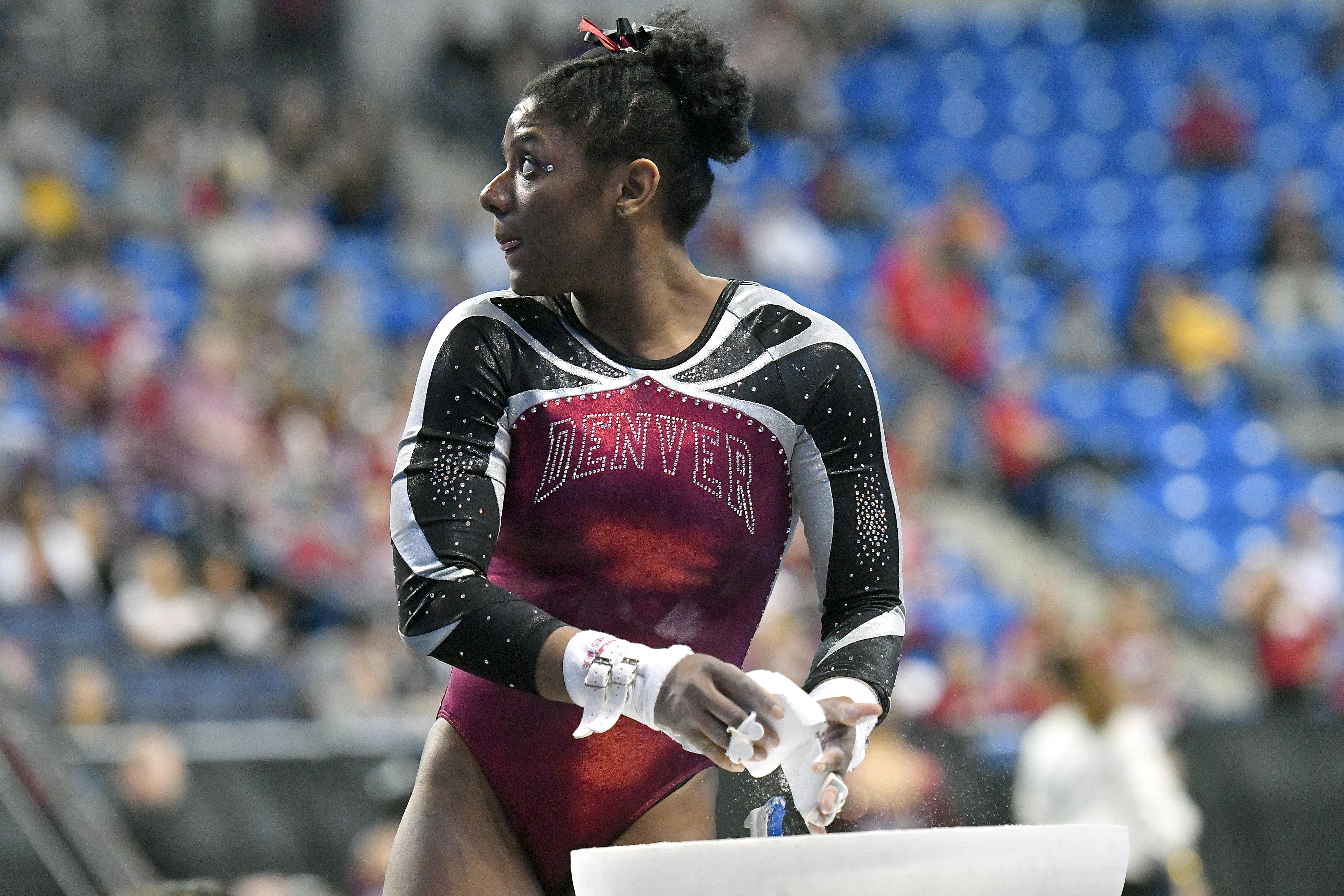 NCAA GYMNASTICS: APR 20 Women's National Championship