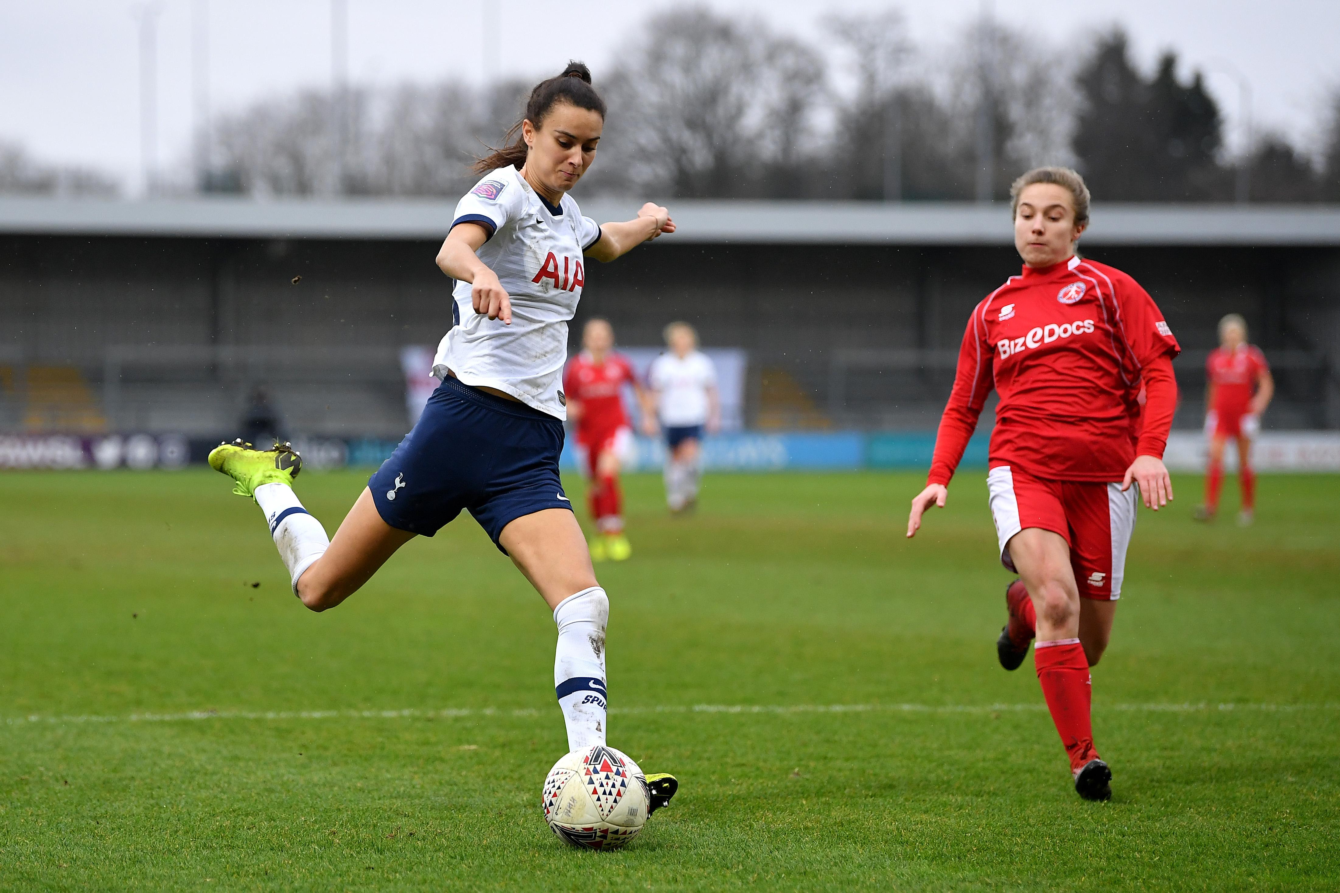 Tottenham Hotspur Women v Barnsley FC Women - Women's FA Cup: Fourth Round
