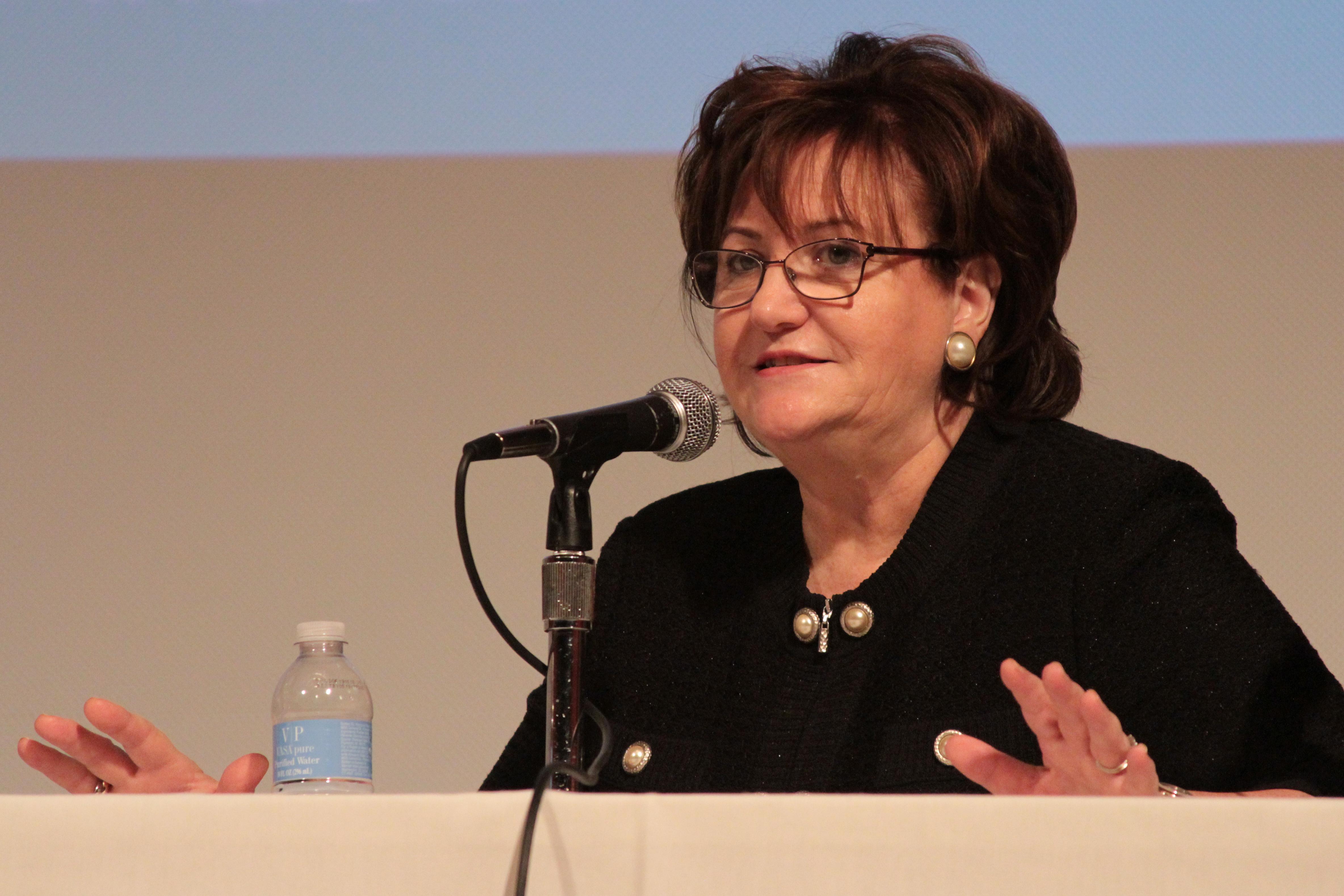 New York State Education Commissioner MaryEllen Elia.