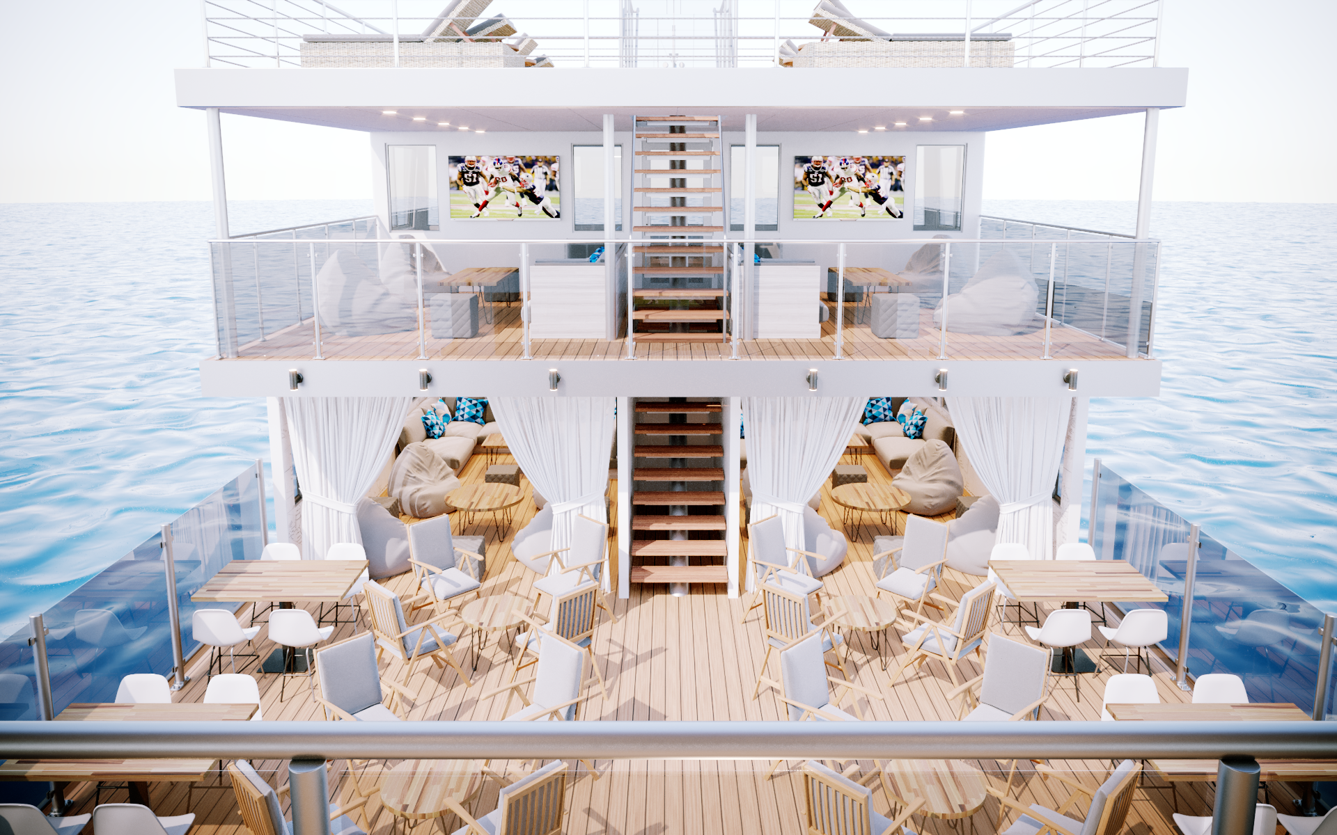 Three-Level Floating Club and Lounge to Set Sail on Mission Bay