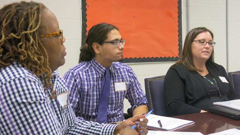 Teacher coaches at Fairley High School in Memphis learn about social-emotional skills at a FuelEd workshop.