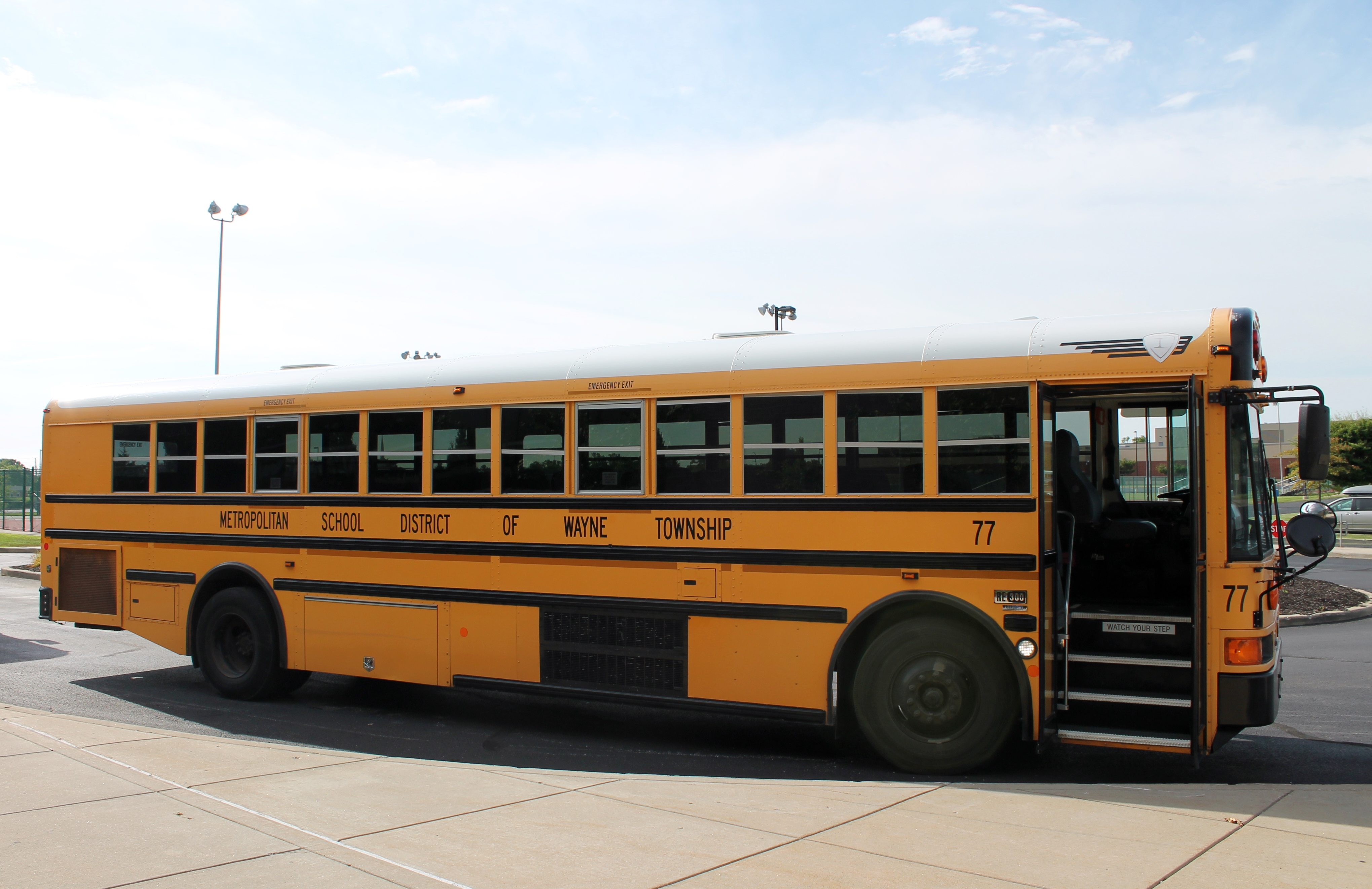 Every year, Wayne Township takes new teachers on a bus tour of the community as part of new teachers' orientation to the district.