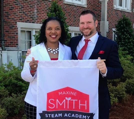 Andy Demster is taking the reins from founding principal Lischa Brooks at Maxine Smith STEAM Academy, an optional school in Midtown Memphis.