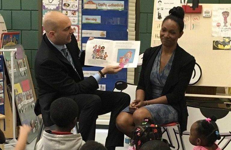 Superintendent Nikolai Vitti and his wife, Rachel Vitti, are raising two children with dyslexia and have spoken about the need to improve services to children with special needs in Detroit.