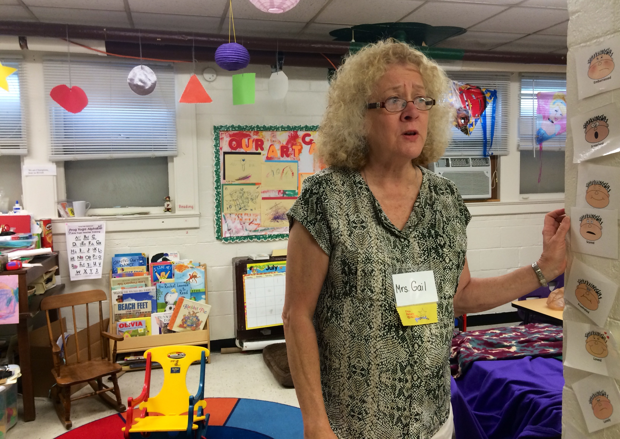 Gail Wolfe leads the preschool at Lynhurst Baptist Church. She's expanding her program to accommodate On My Way preschool participants.