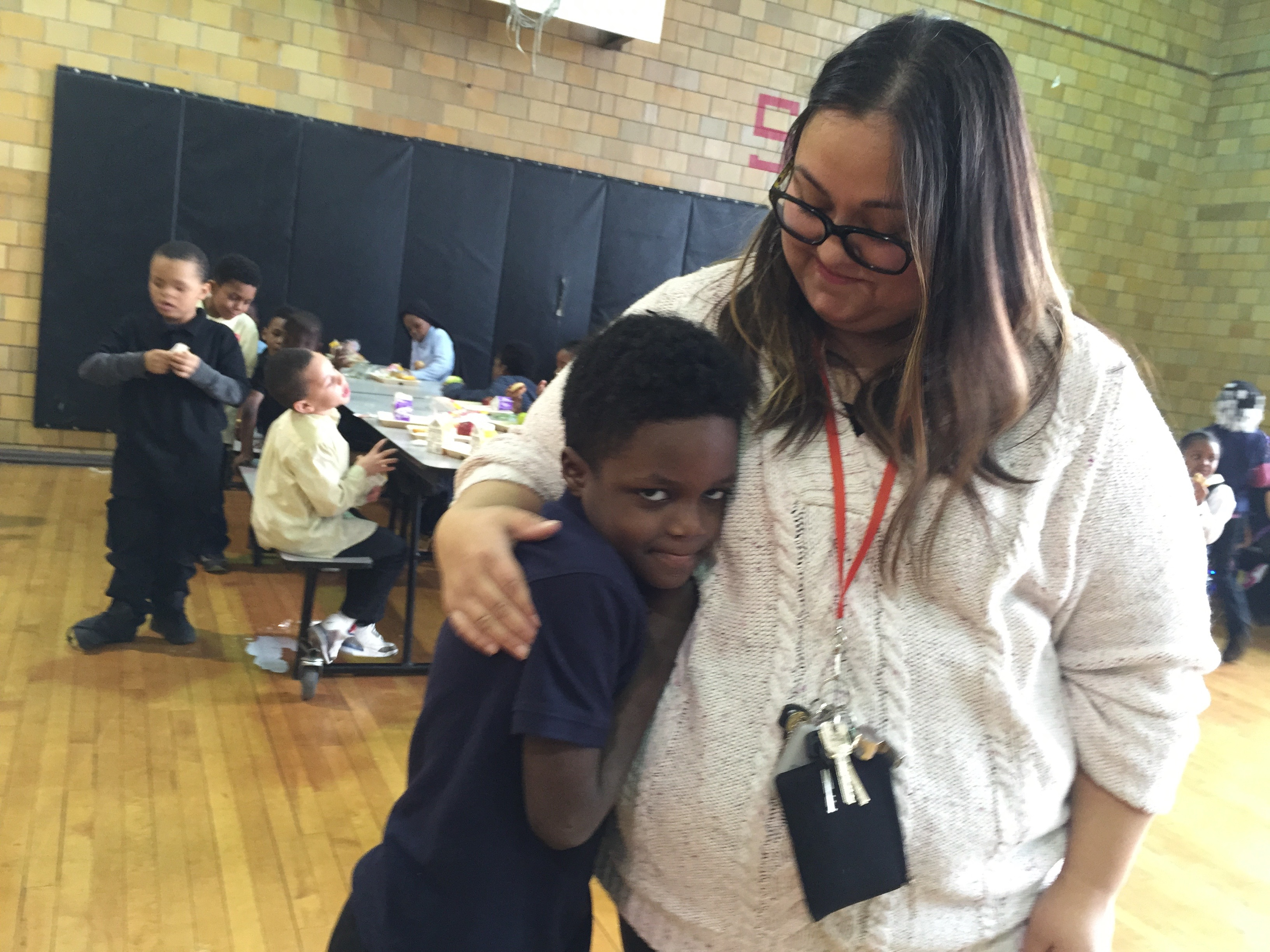 Kindergarten teacher Stefanie Kovaleski of Bethune Elementary-Middle School is one of many teachers who could take a major pay cut when her school returns next year to Detroit Public Schools Community District if she doesn't get credit for her years of experience.