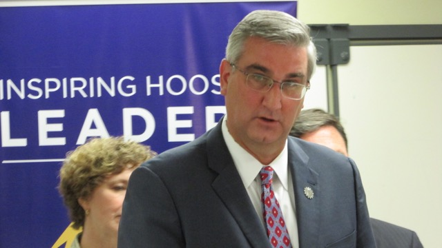 The 2016 Republican nominee for Indiana governor Eric Holcomb.
