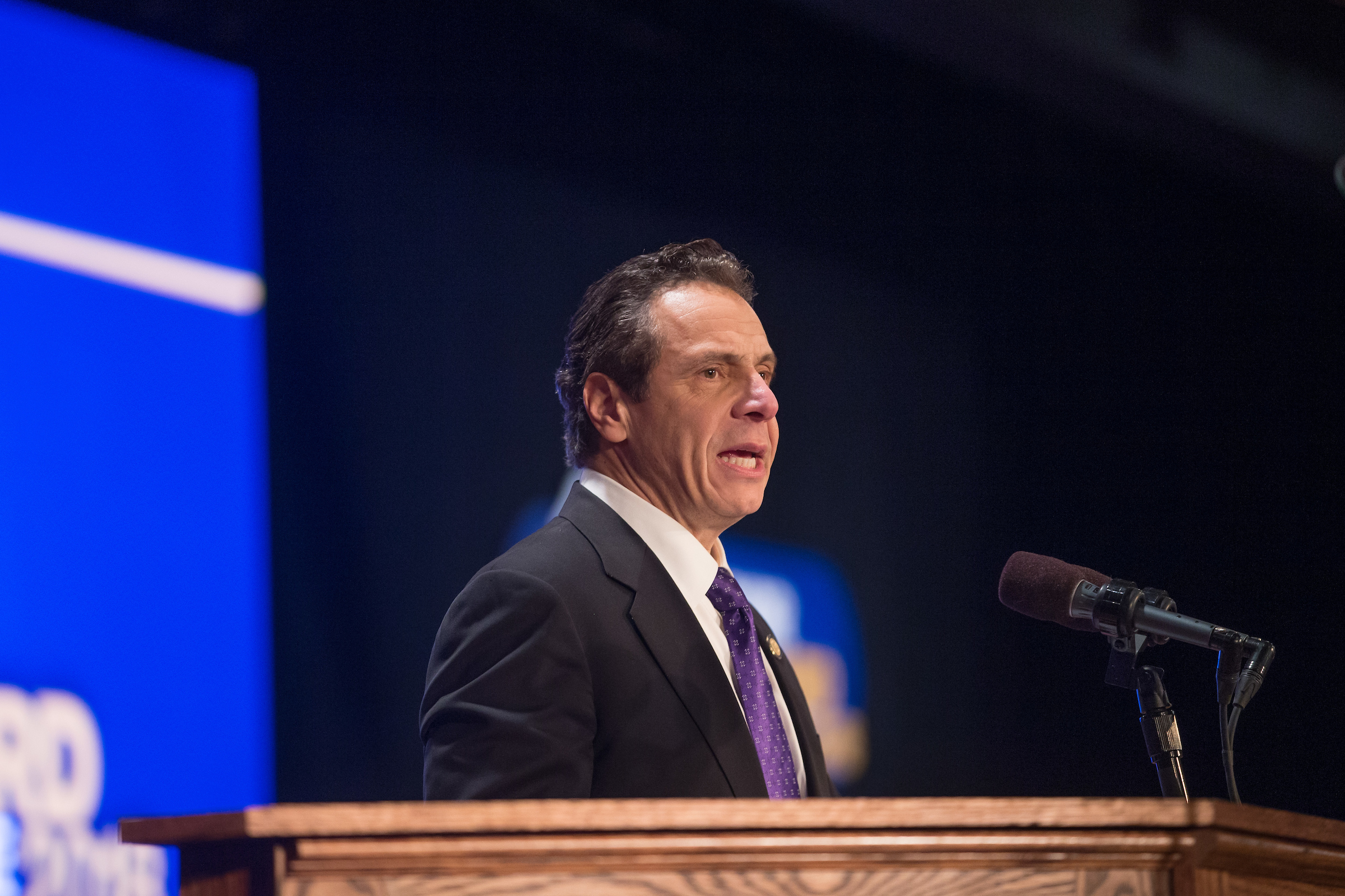 Governor Andrew Cuomo delivers his 2018 State of the State.